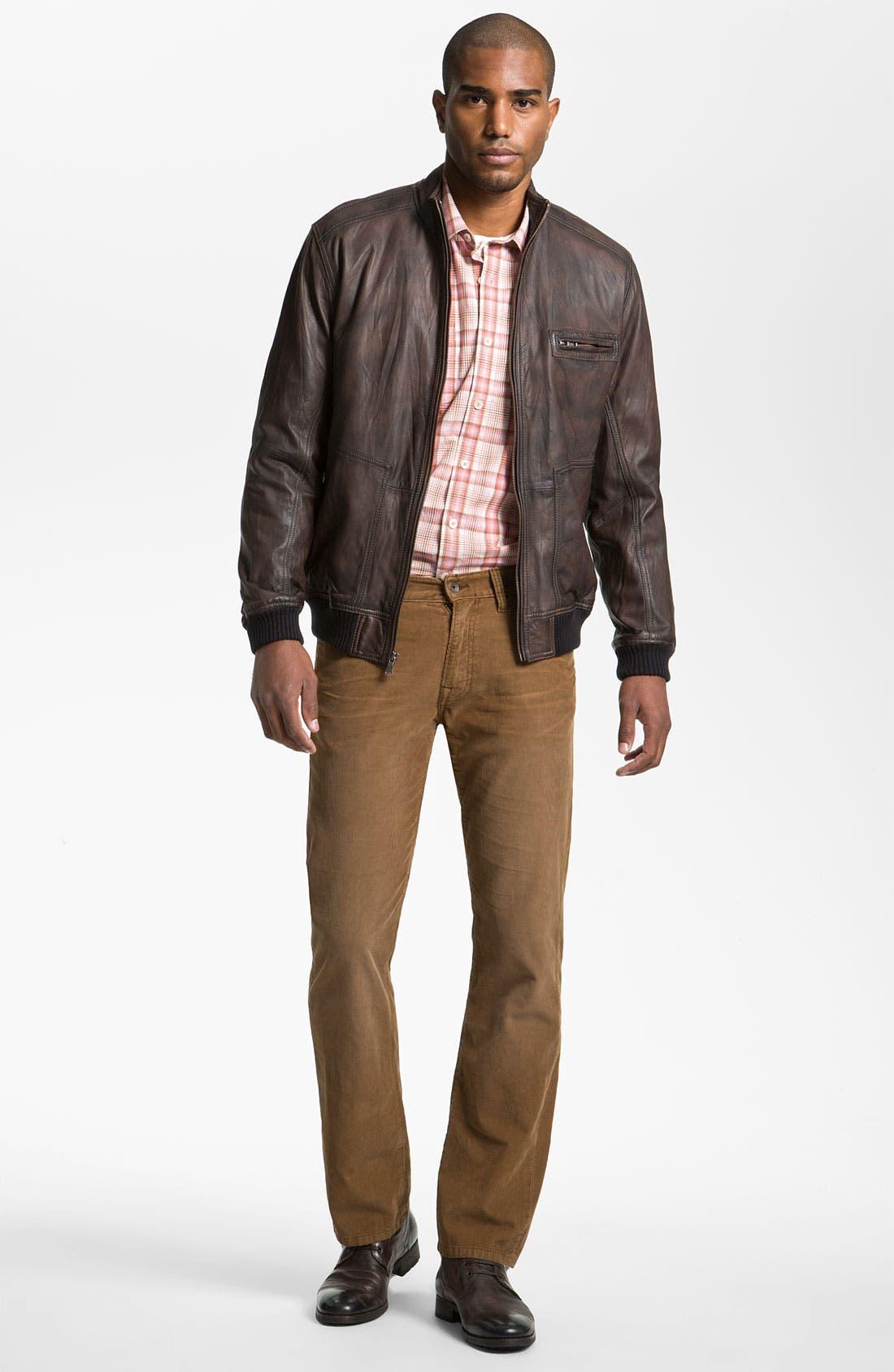 Alternate Image 4  - Tommy Bahama 'Island Aviator' Leather Jacket