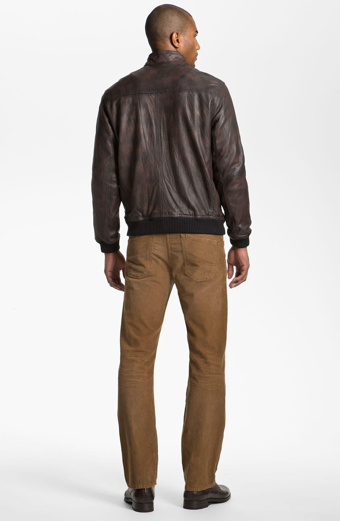 Alternate Image 5  - Tommy Bahama 'Island Aviator' Leather Jacket