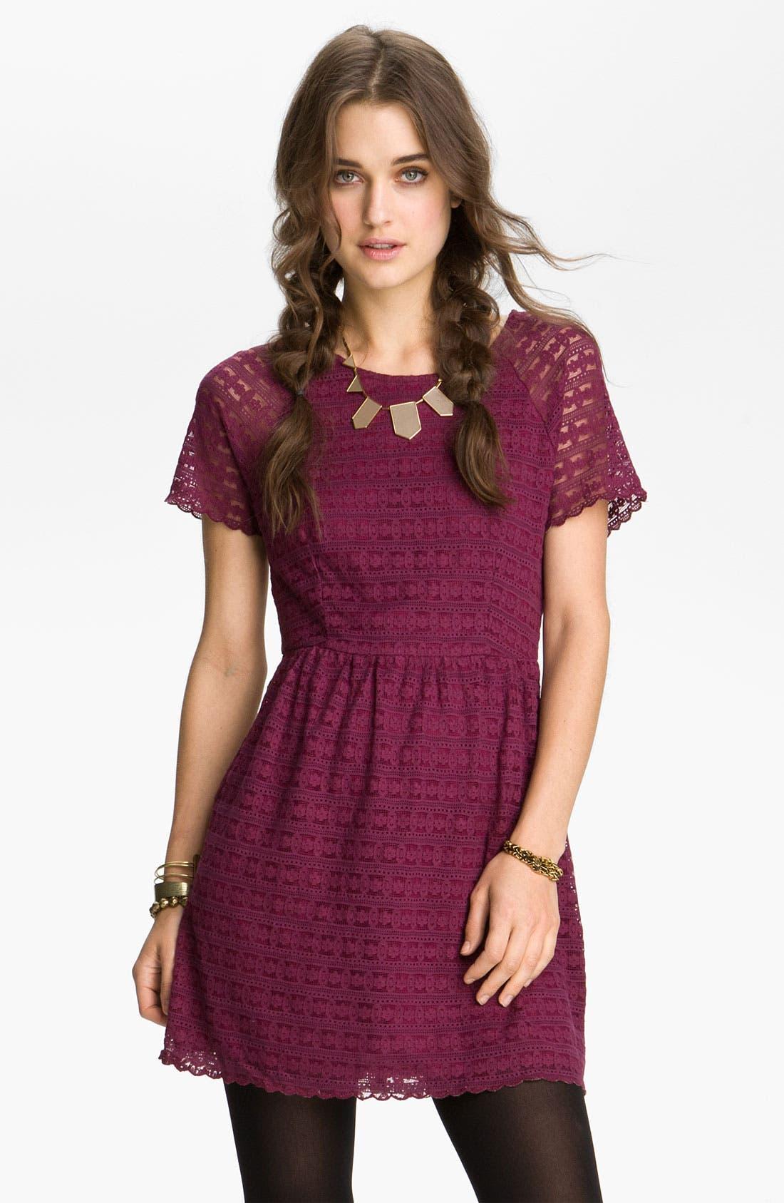 Main Image - Free People 'Candy' Lace Dress
