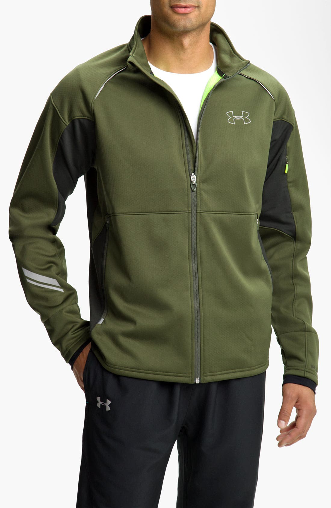 Alternate Image 1 Selected - Under Armour 'Storm Run' Regular Fit Track Jacket