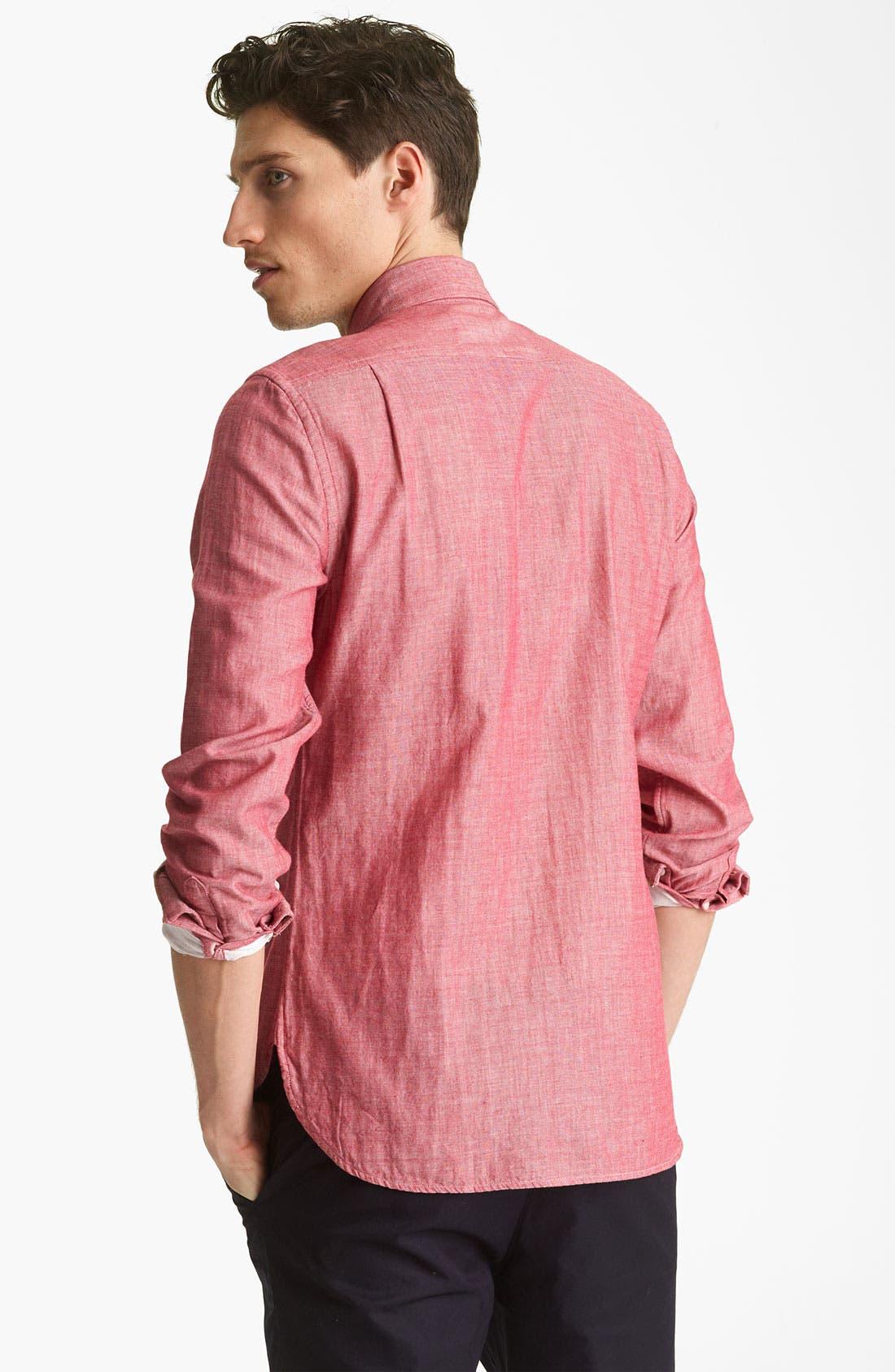 Alternate Image 2  - Shipley & Halmos 'Booster' Chambray Shirt