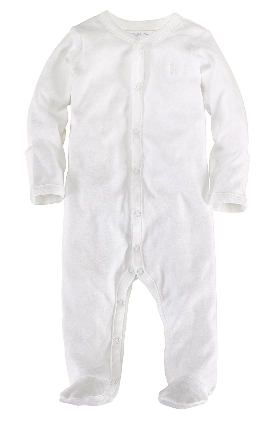 Alternate Image 1 Selected - Ralph Lauren Footie (Baby)