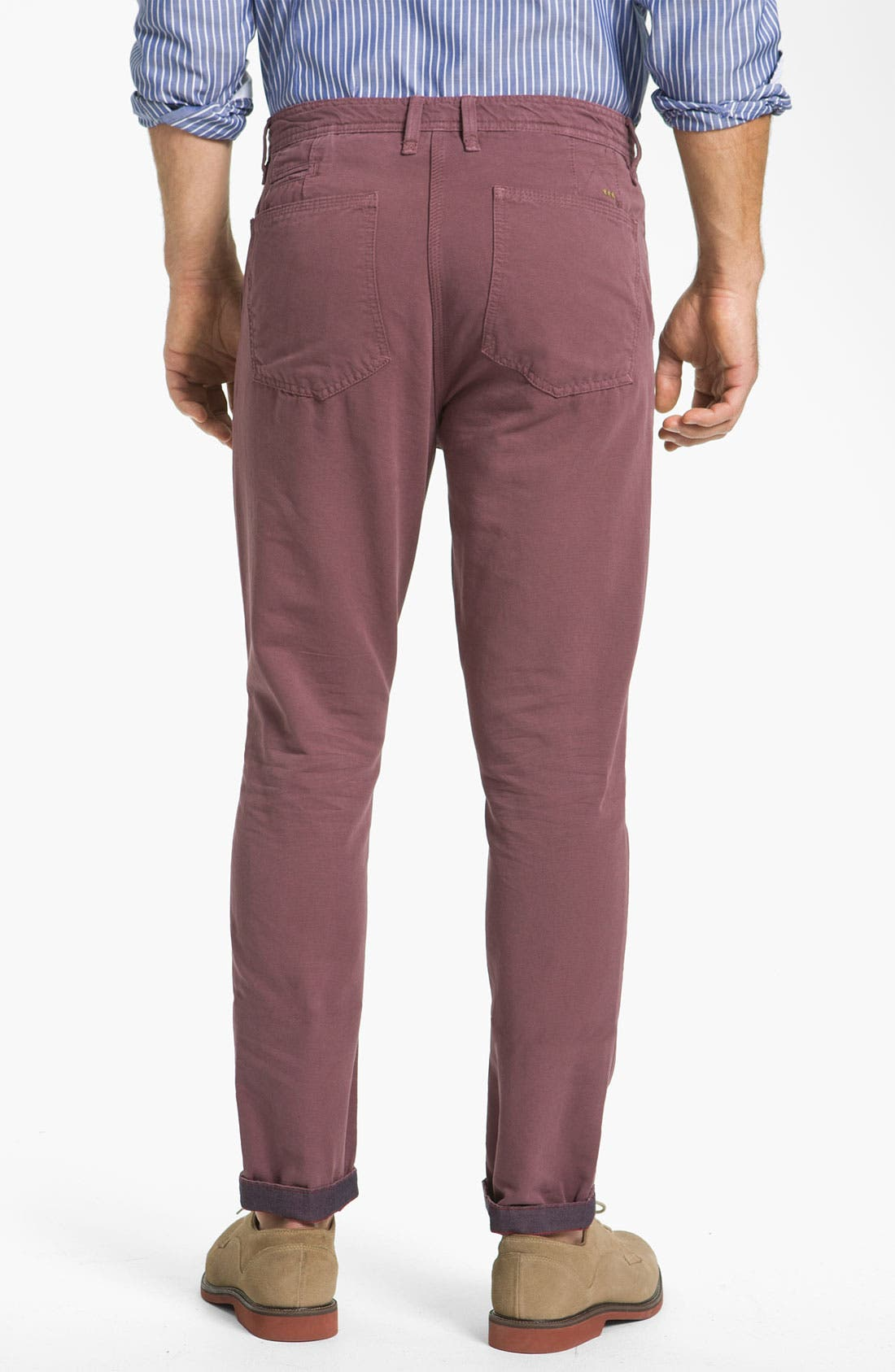 Alternate Image 2  - Ted Baker London 'Soochin' Slim Fit Chinos