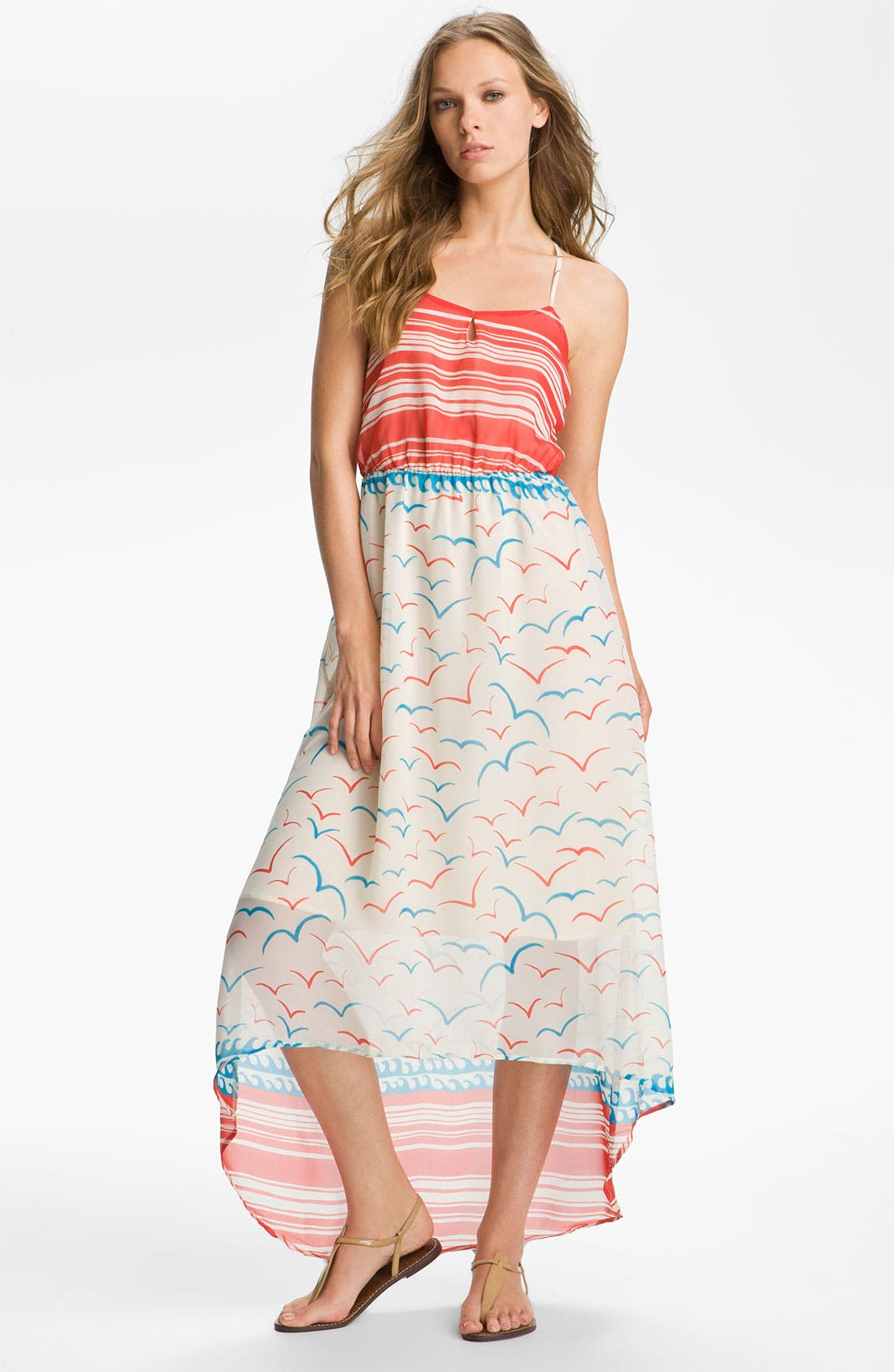 Alternate Image 1 Selected - Collective Concepts Seaside Maxi Dress