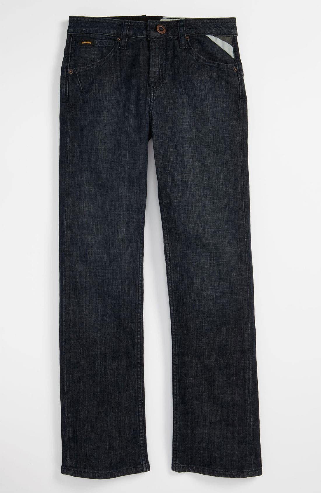 Alternate Image 2  - Volcom 'Enowen' Straight Leg Jeans (Big Boys)