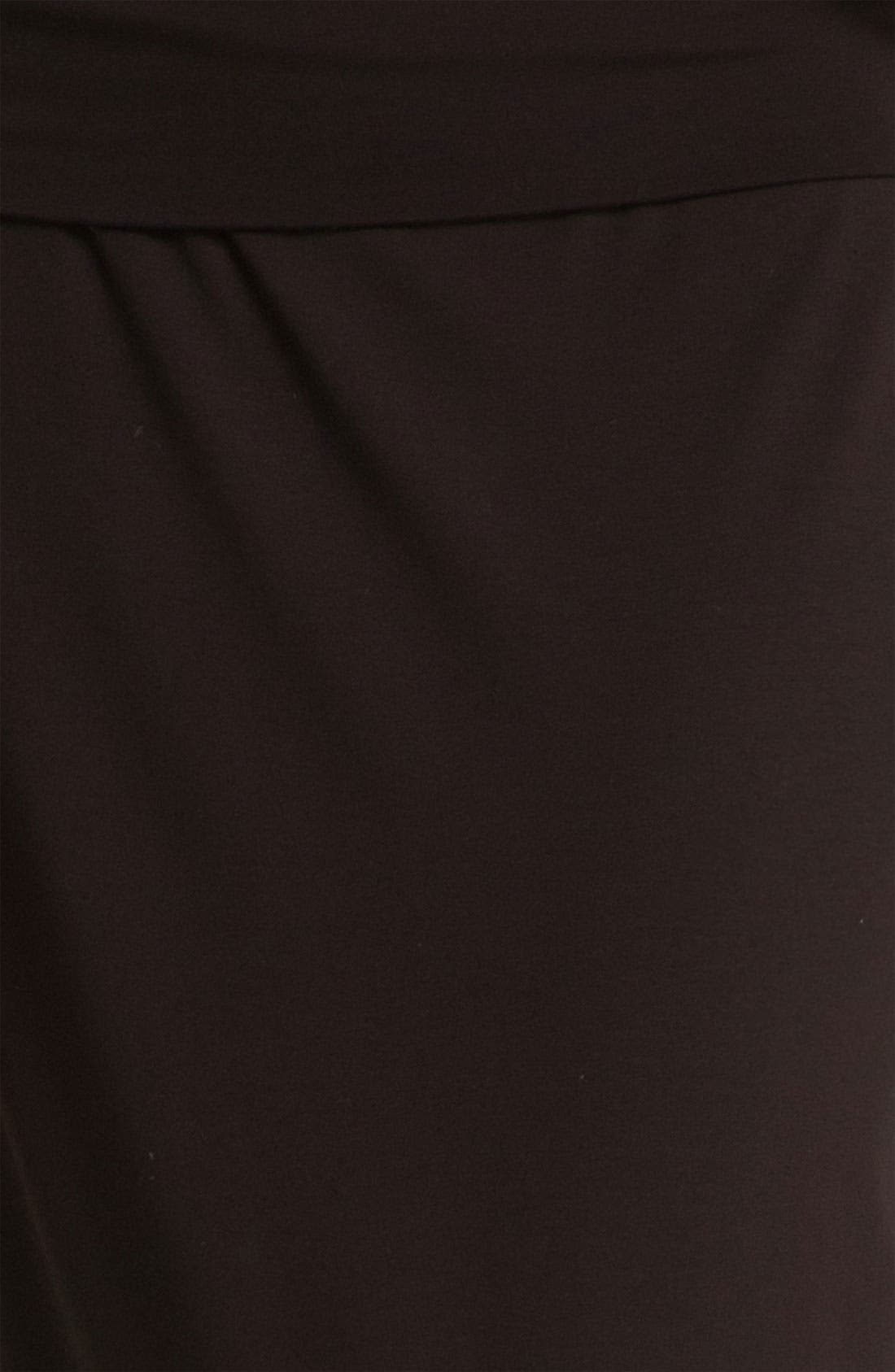 Alternate Image 5  - Eileen Fisher Fold Over Slim Maxi Skirt