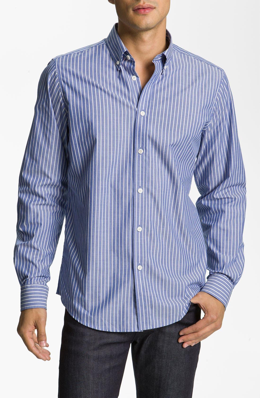 Alternate Image 1 Selected - Ben Sherman 'Clerkenwell' Stripe Woven Shirt