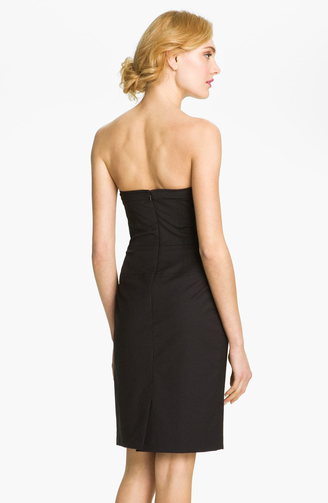 Alternate Image 2  - French Connection 'Days of Winter' Strapless Sheath Dress