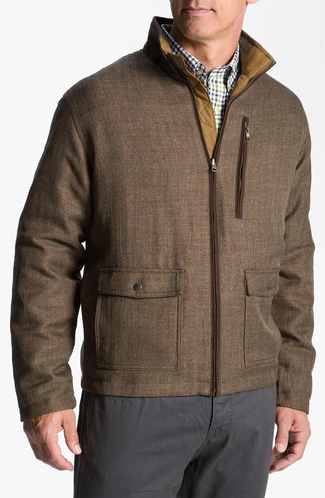 Alternate Image 1 Selected - Cutter & Buck 'WeatherTec Bearsden' Reversible Jacket (Online Only)