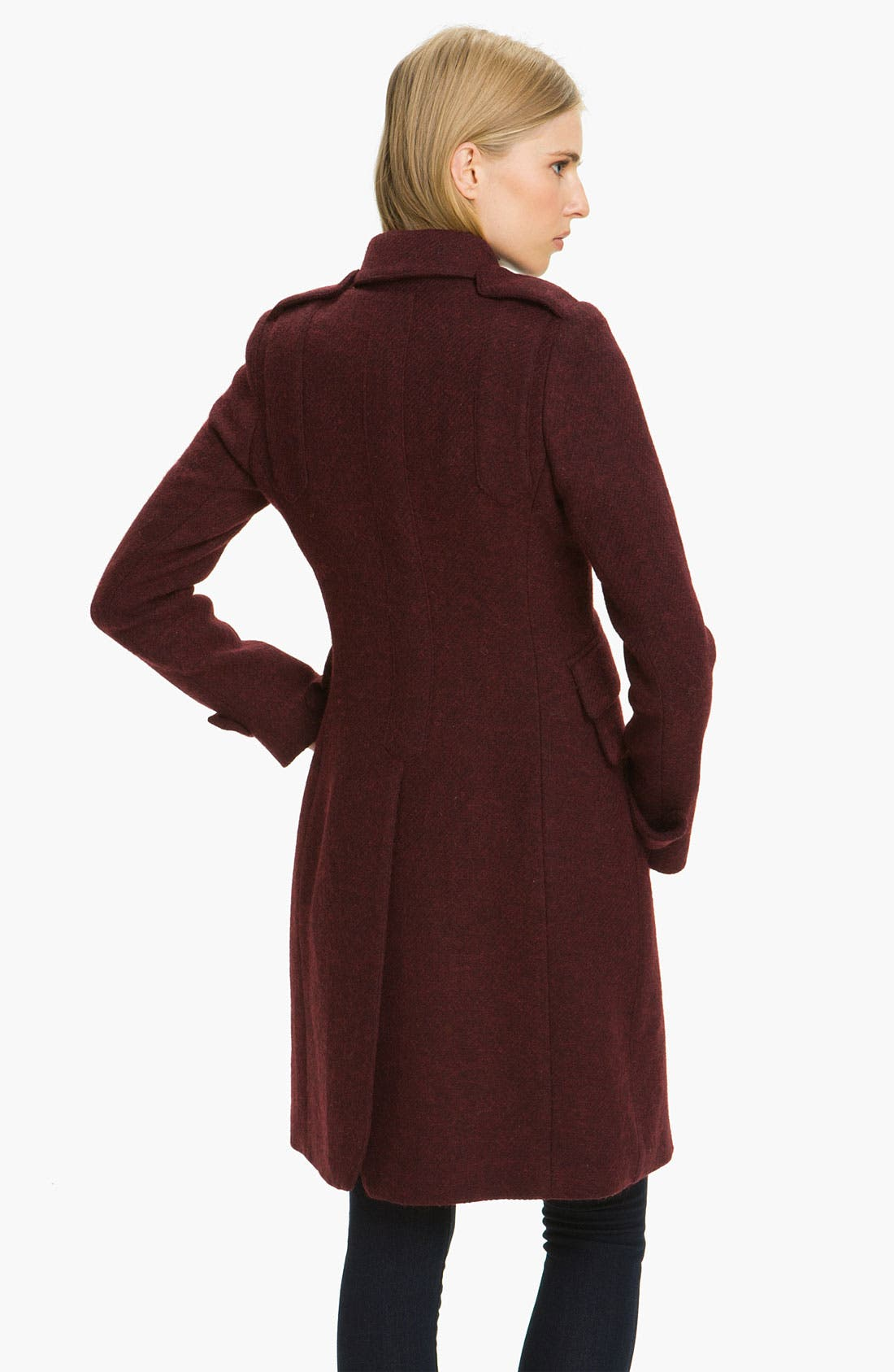 Alternate Image 2  - Smythe Double Breasted Wool Blend Coat