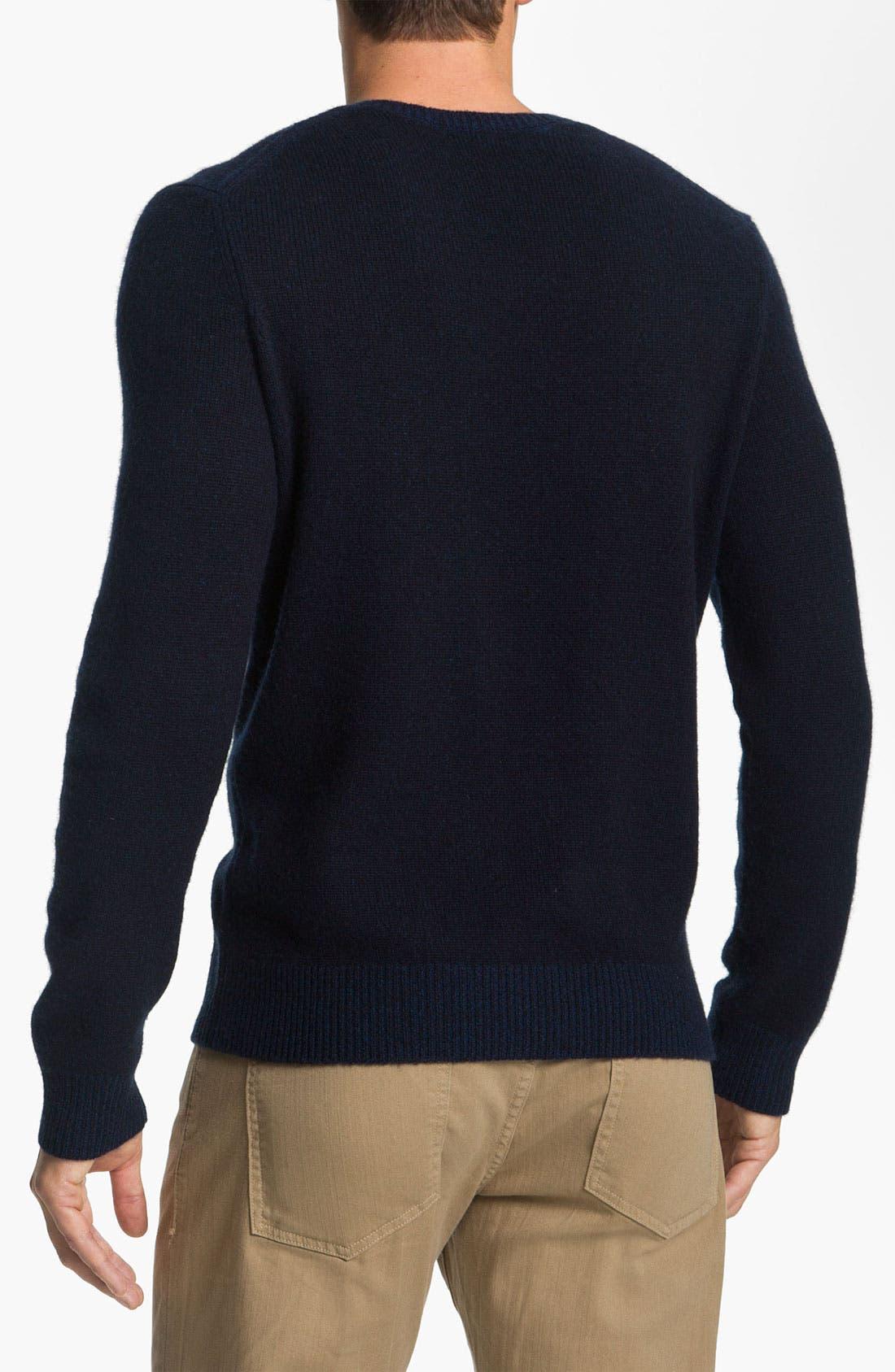 Alternate Image 2  - Vince V-Neck Sweater