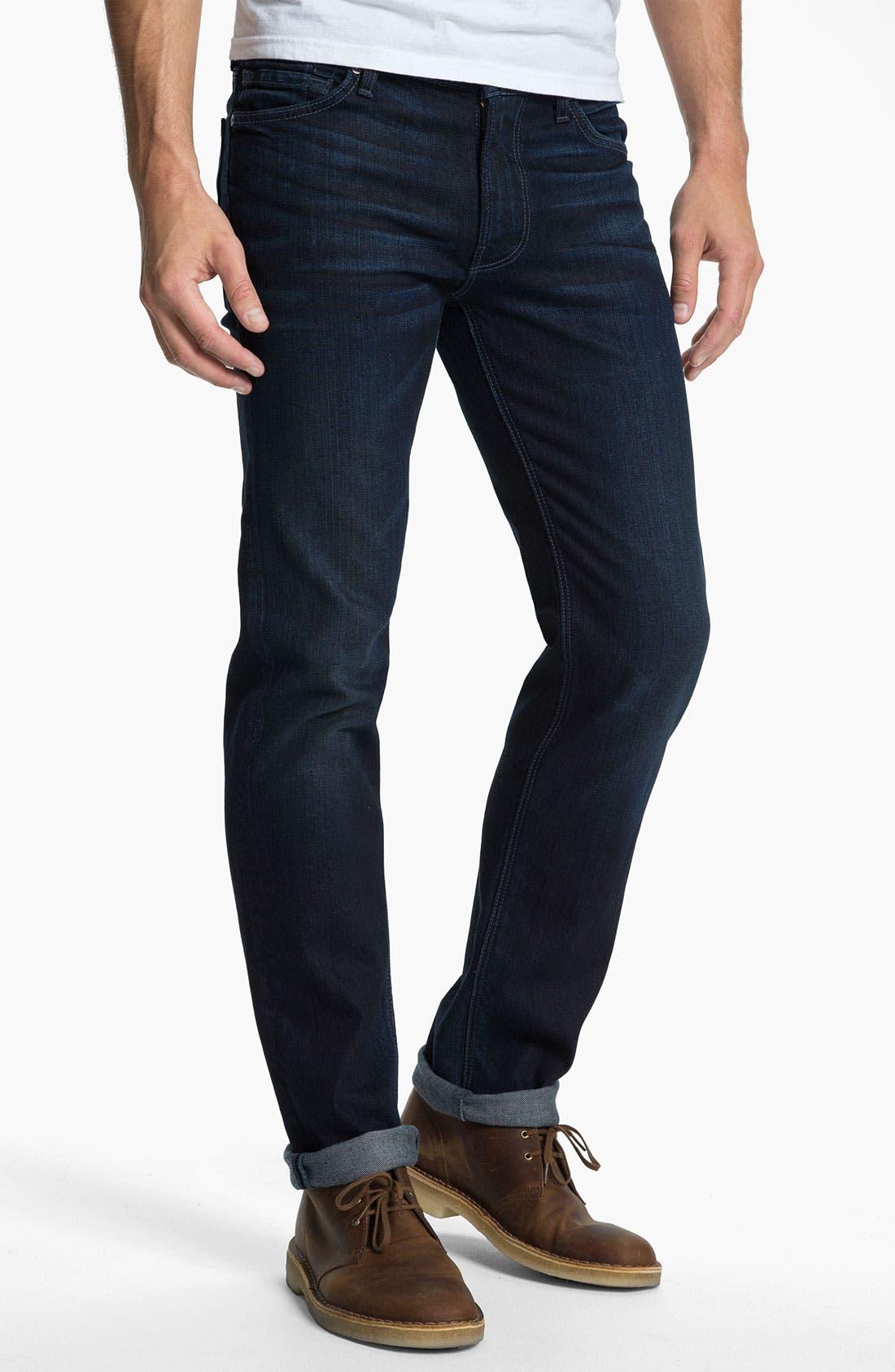 Alternate Image 2  - 7 For All Mankind 'Slimmy' Slim Straight Leg Jeans (Bodega Bay)