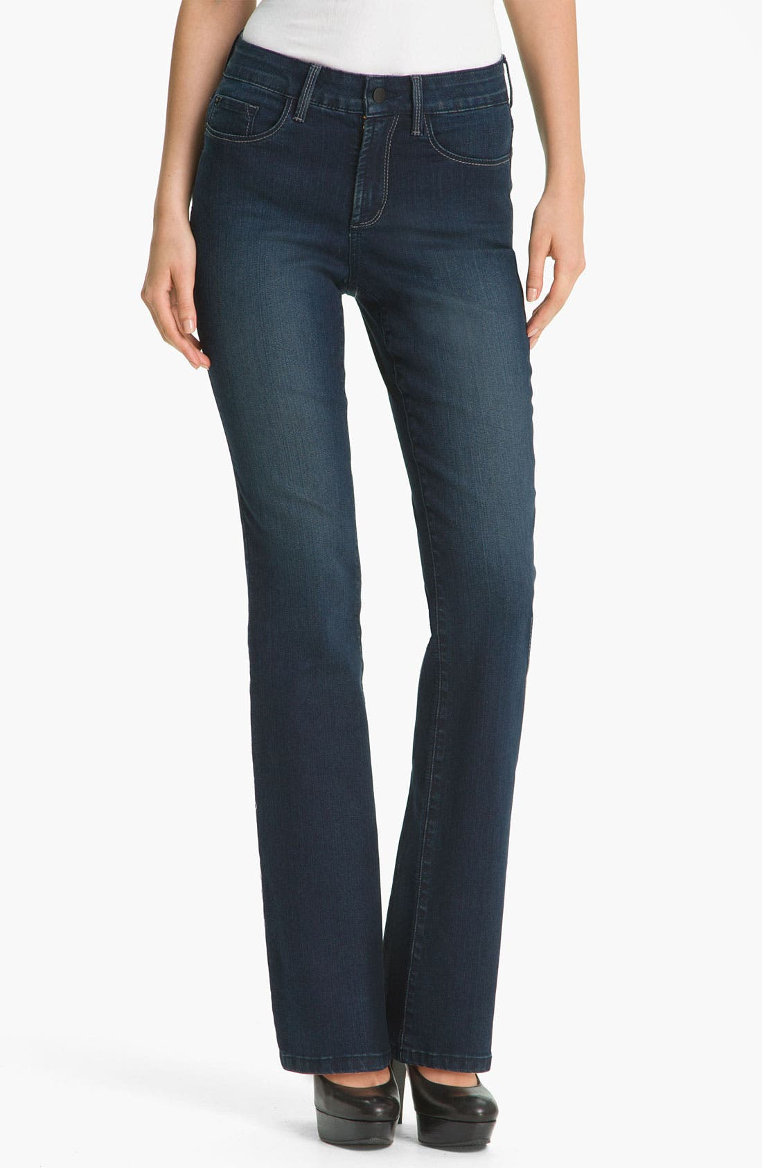 Alternate Image 1 Selected - NYDJ 'Barbara' Bootcut Jeans (Petite)