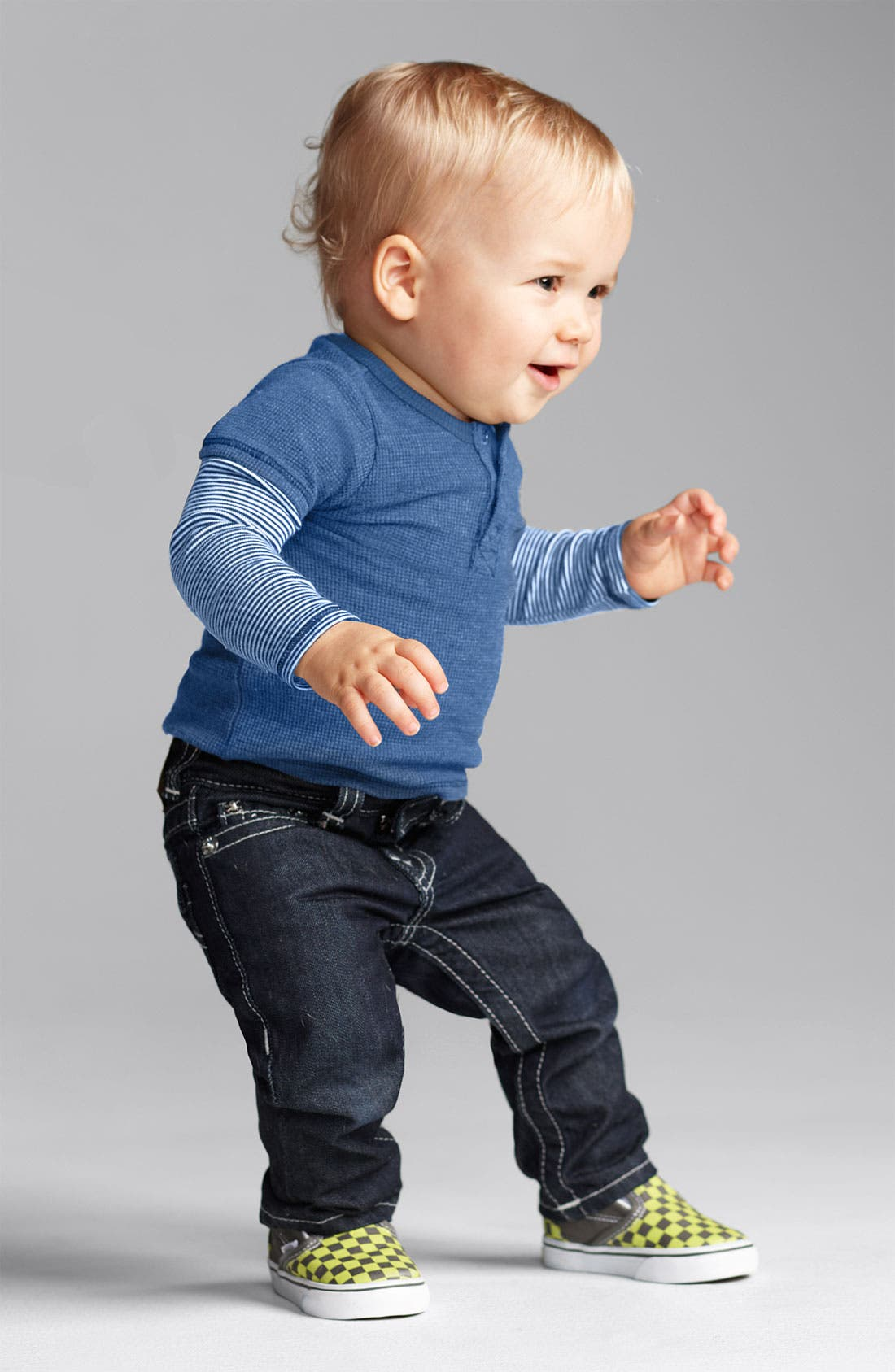 Alternate Image 3  - True Religion Brand Jeans Straight Leg Jeans (Infant)