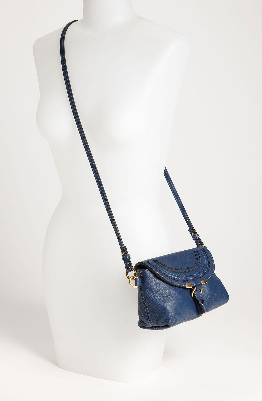 Alternate Image 2  - Chloé 'Marcie' Calfskin Leather Crossbody Bag