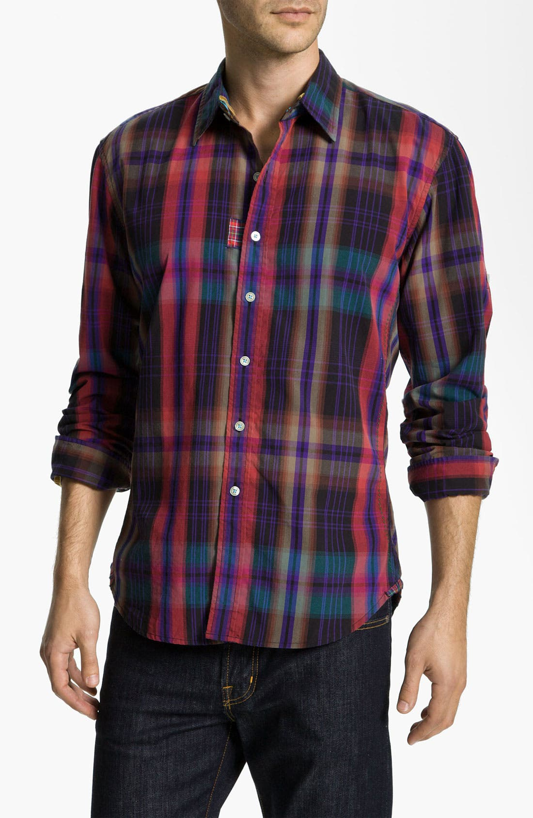 Alternate Image 1 Selected - Robert Graham 'Trebuchet' Sport Shirt