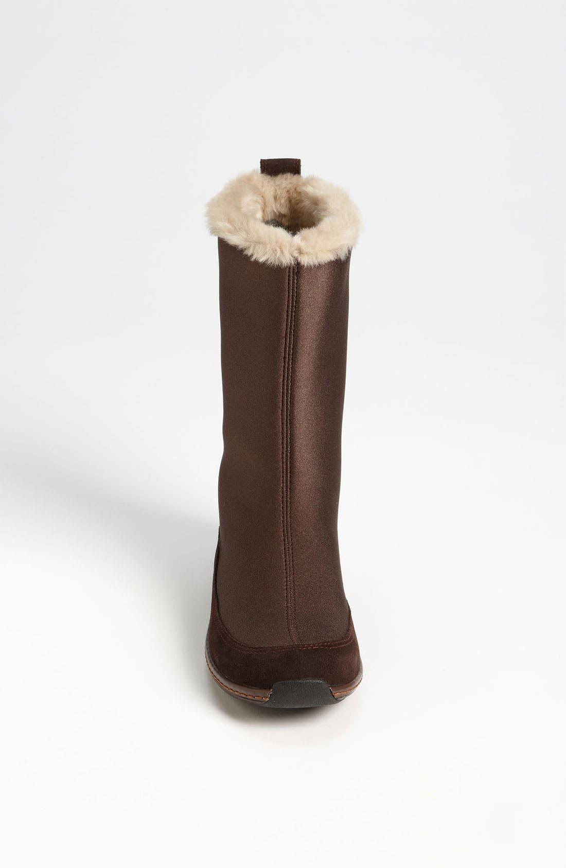 Alternate Image 3  - Aetrex 'Furry' Mid Calf Boot