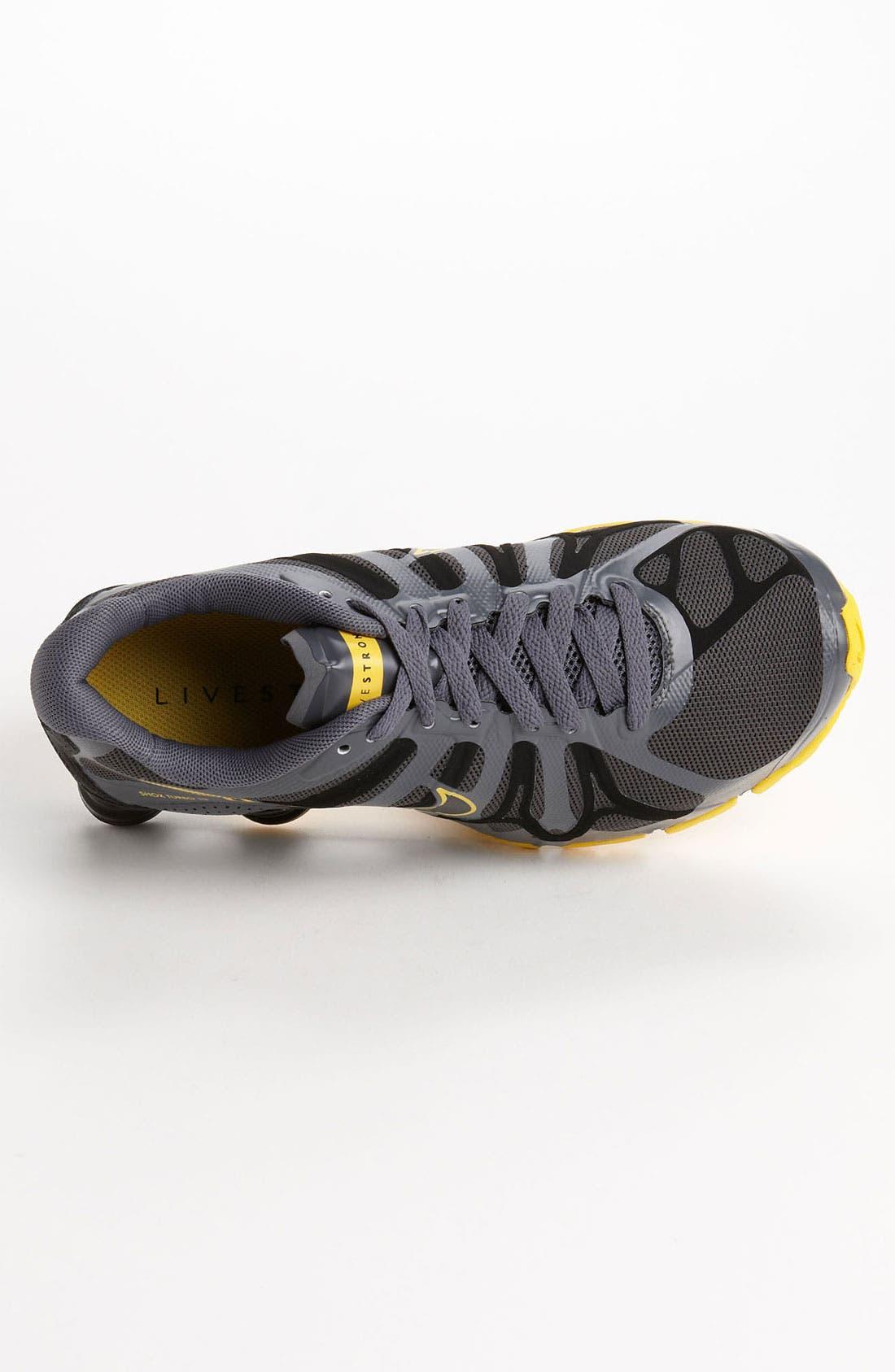 e5cae38245942d ... nike livestrong shox turbo 13 running shoe (men) nordstrom .