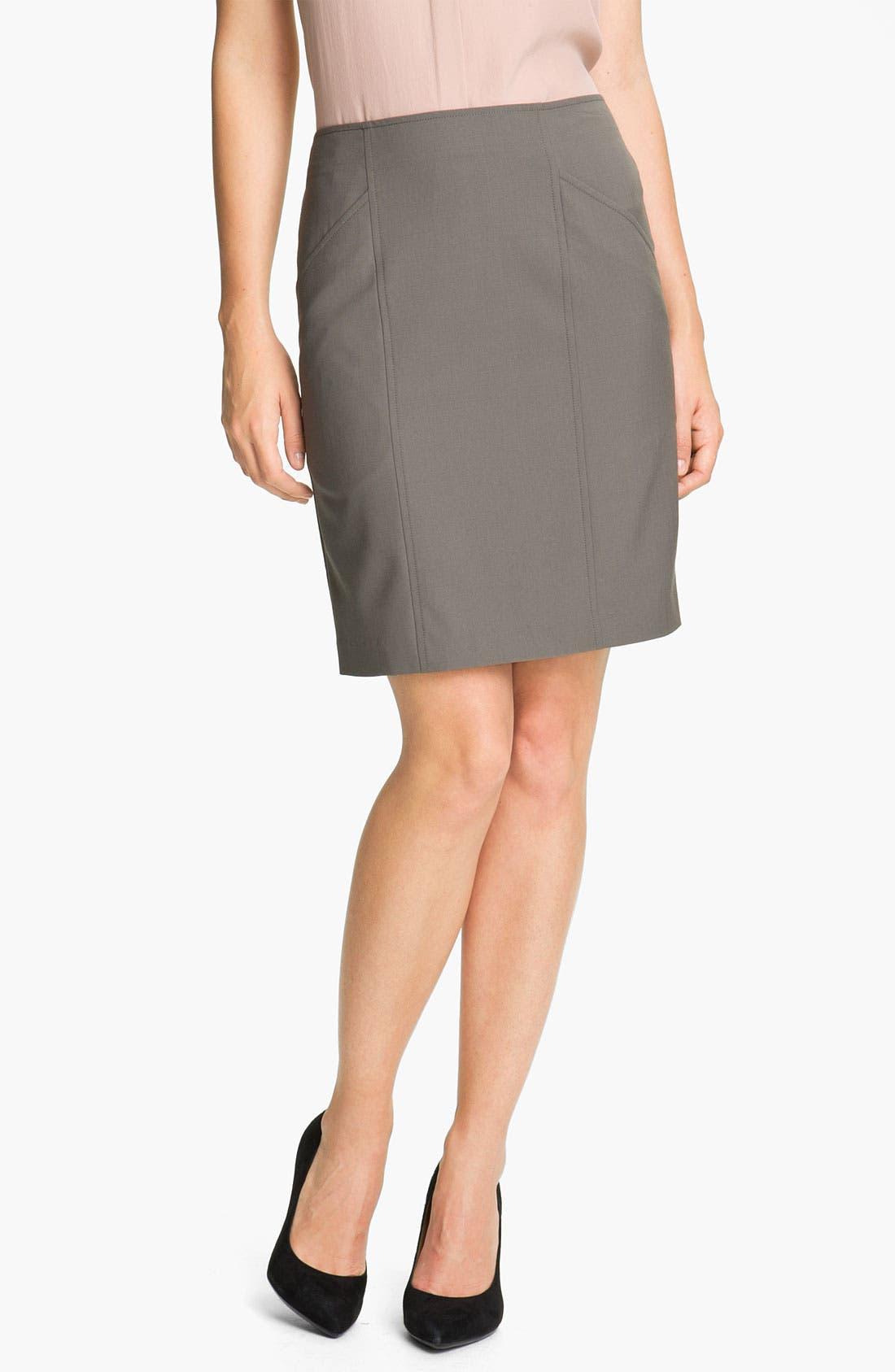 Alternate Image 1 Selected - Theory 'Nuria - Tailor' Pencil Skirt