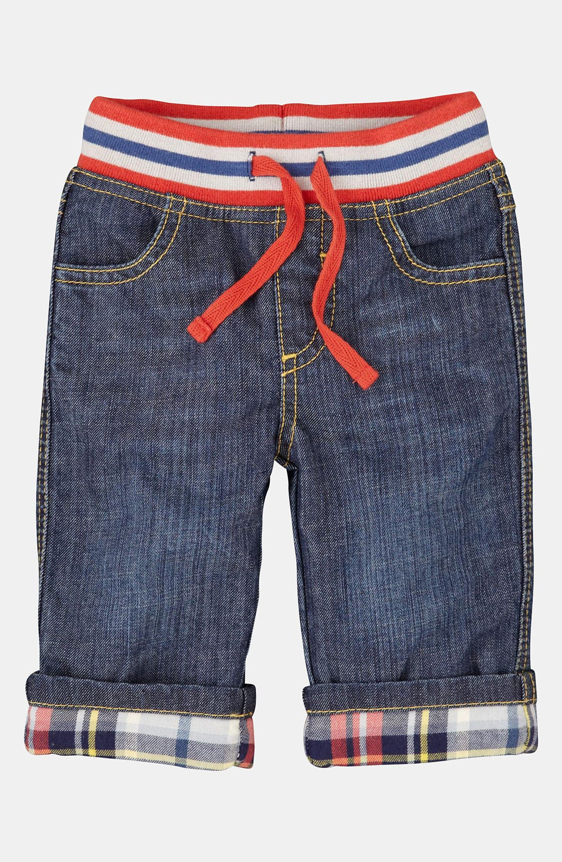 Alternate Image 1 Selected - Mini Boden 'Baby' Jeans (Infant)