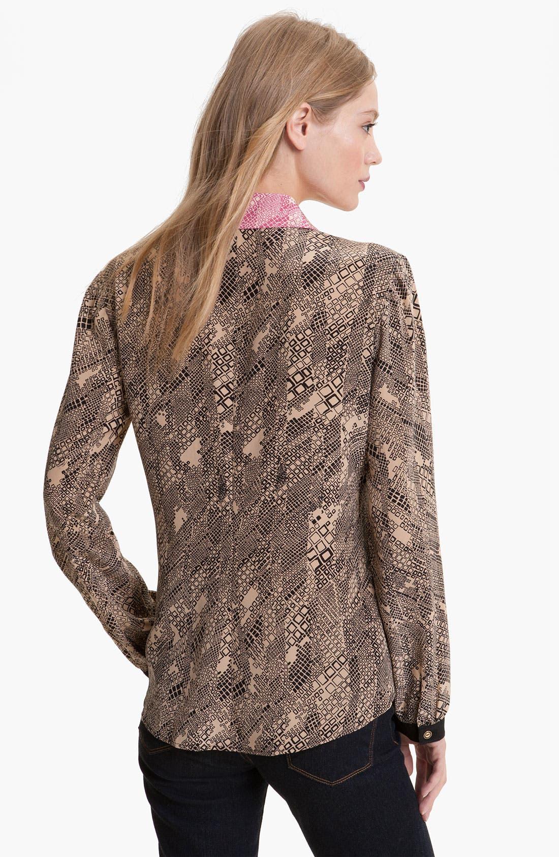 Alternate Image 2  - Trina Turk 'Sierra' Silk Blouse
