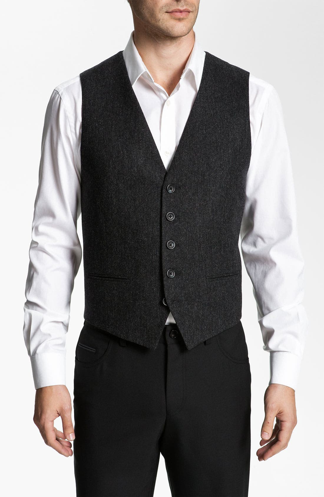 Alternate Image 1 Selected - John W. Nordstrom® Tweed Vest