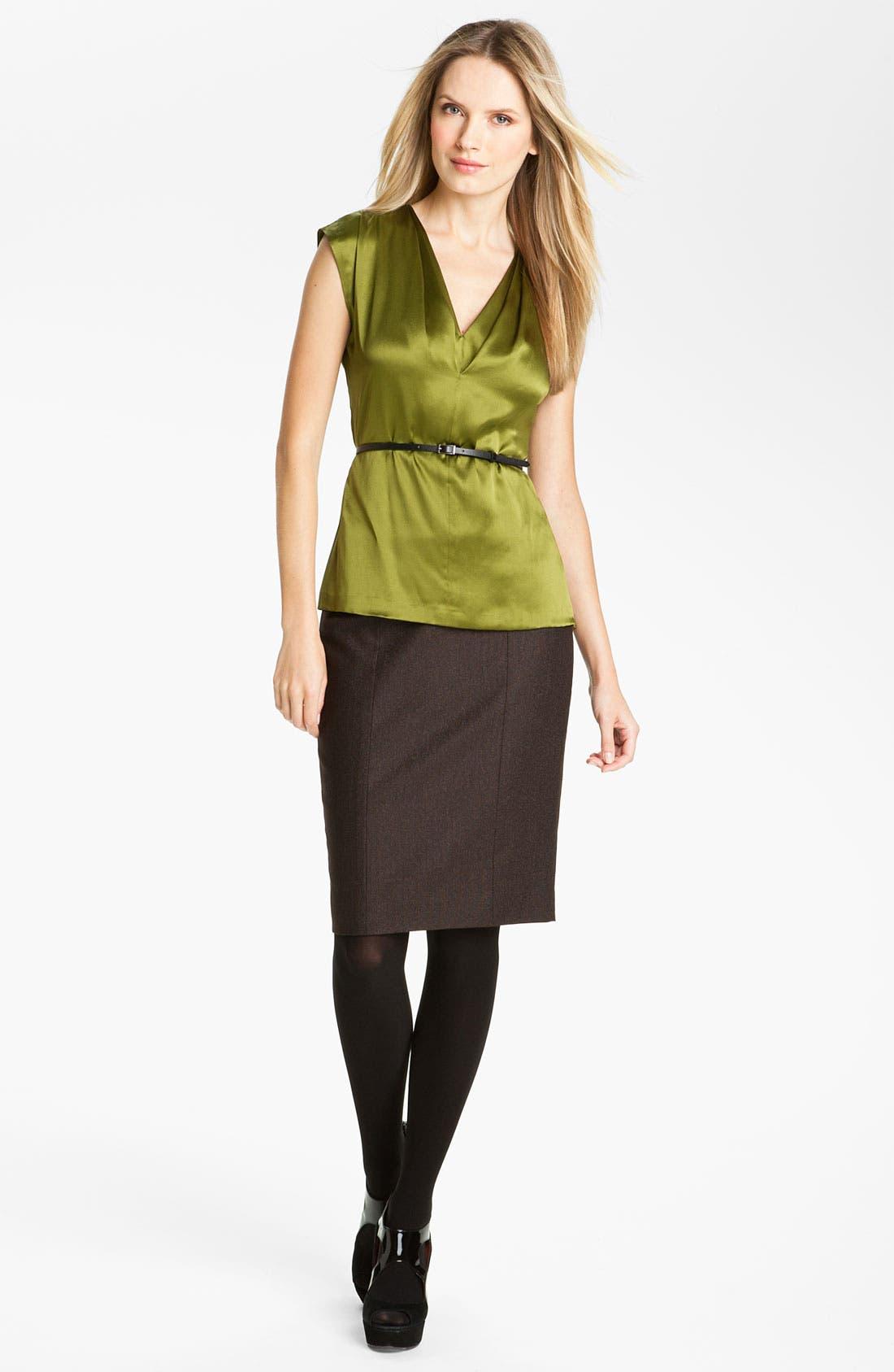 Alternate Image 4  - Classiques Entier® 'Stella Weave' Skirt