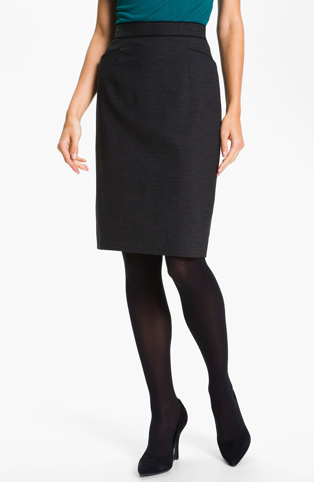 Alternate Image 1 Selected - Classiques Entier® 'Glam Grid' Skirt