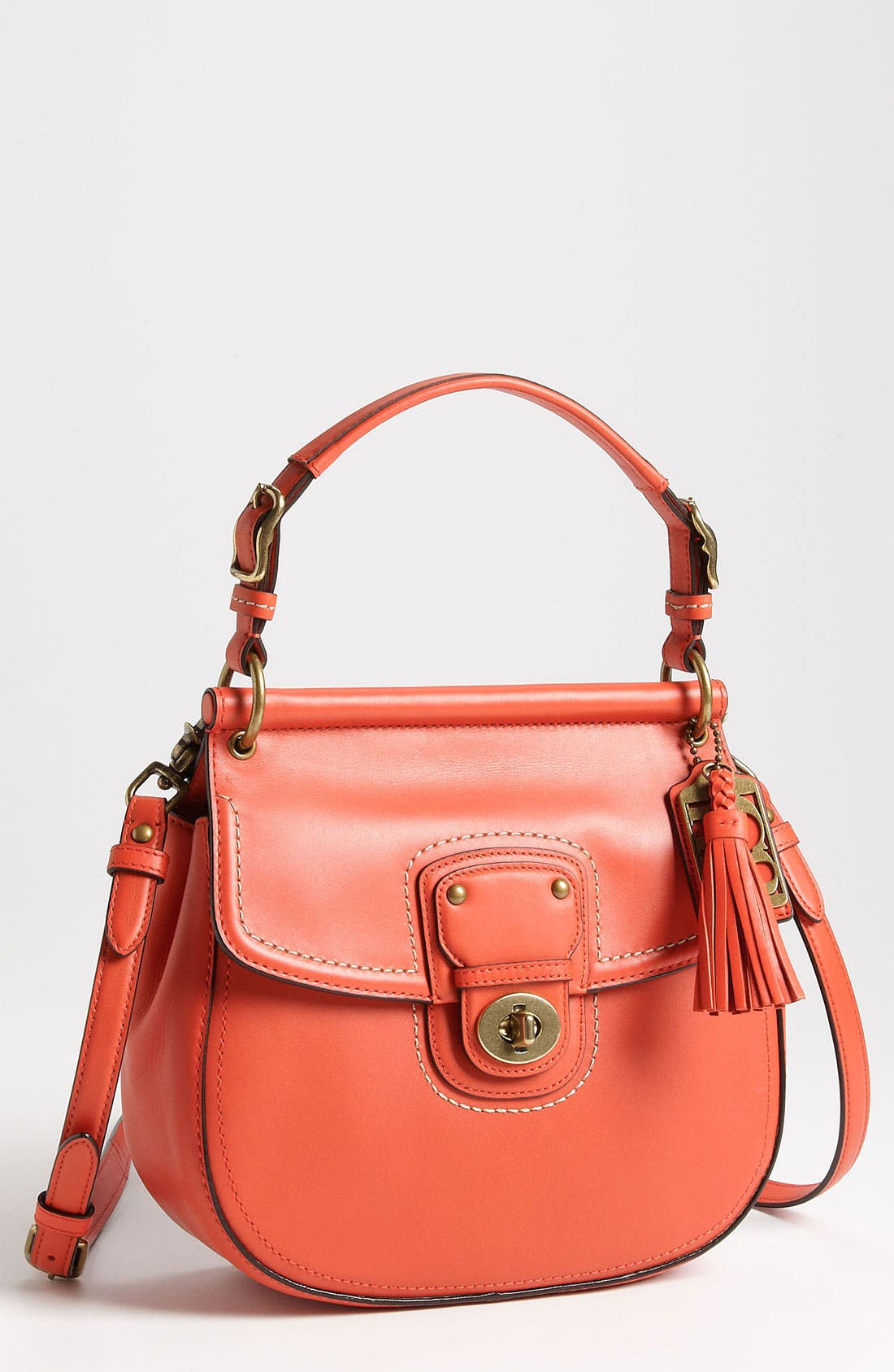 Main Image - COACH 'Poppy - New Willis' Leather Hobo