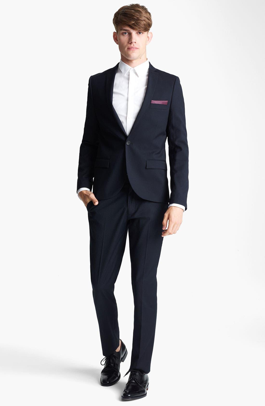 Alternate Image 4  - Topman Skinny Blazer