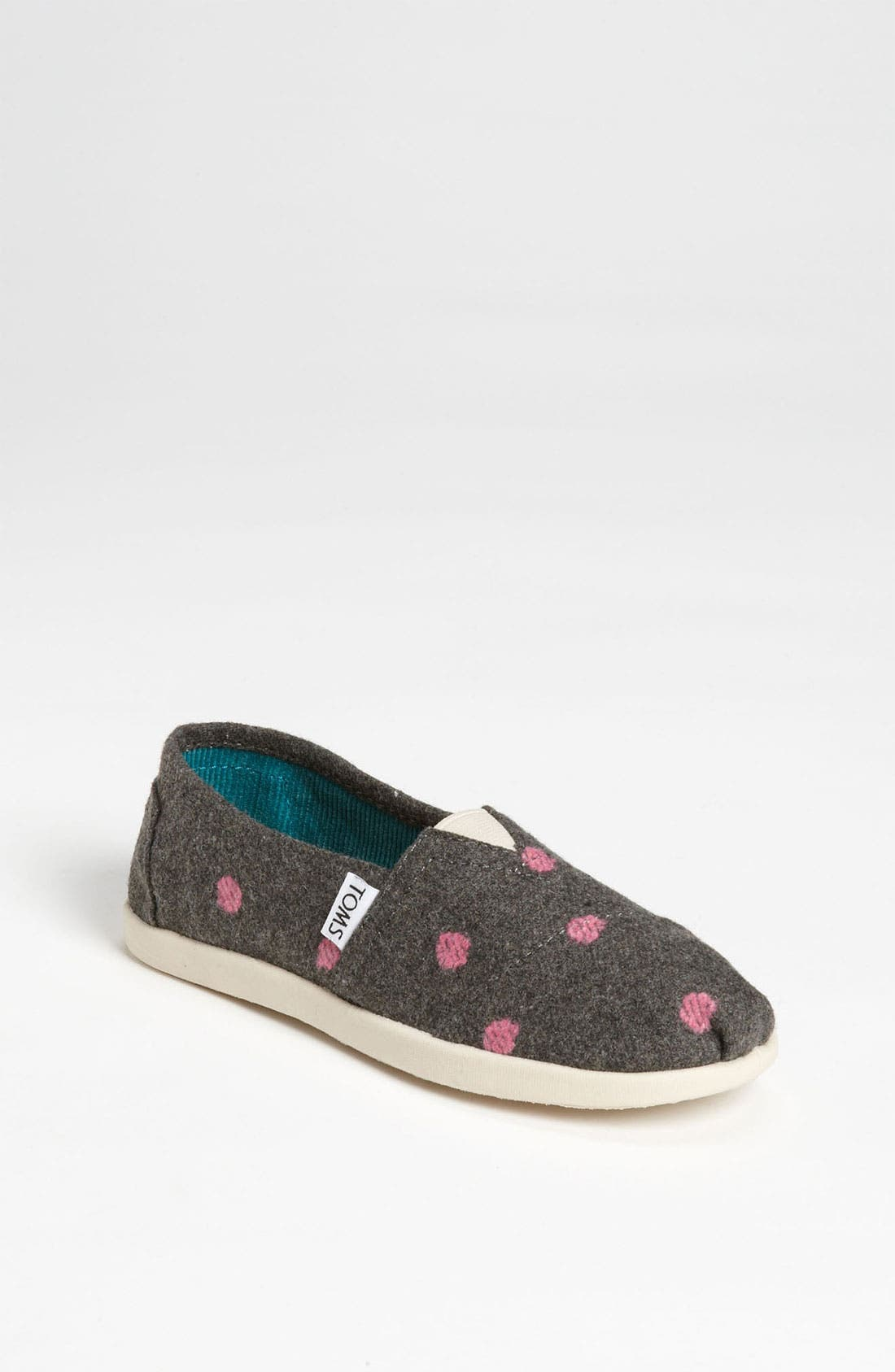 Main Image - TOMS 'Classic Youth - Dot' Slip-On (Toddler, Little Kid & Big Kid)