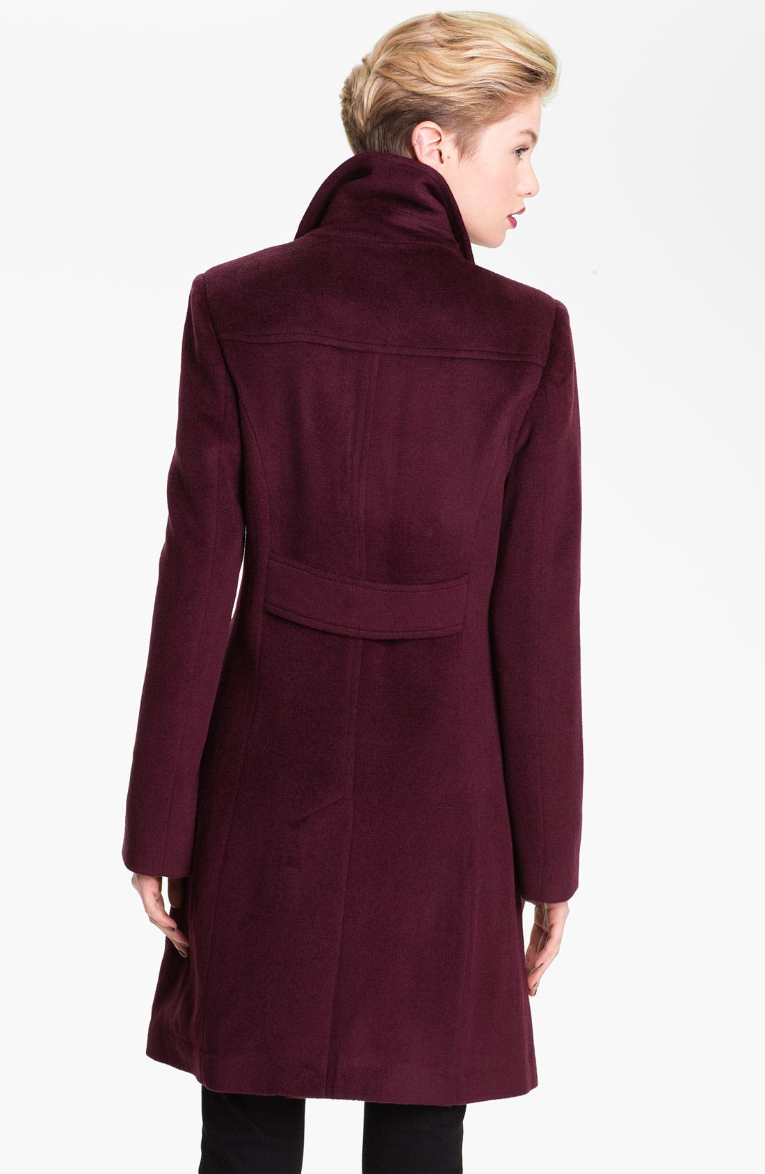 Alternate Image 2  - Tahari 'Megan' Single Breasted Coat