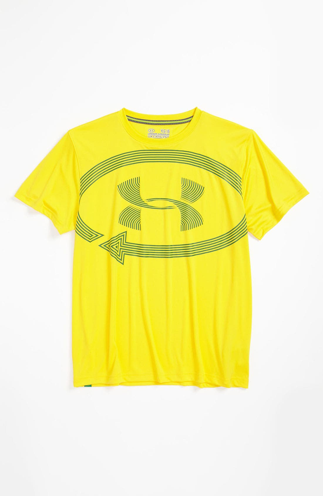 Alternate Image 1 Selected - Under Armour 'Catalyst' T-Shirt (Big Boys)
