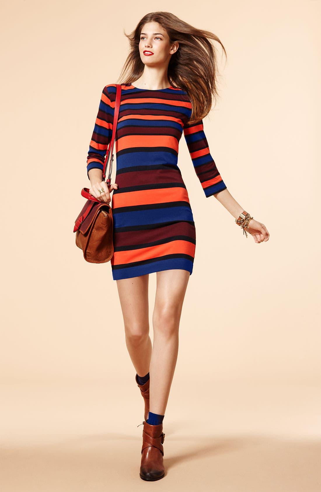 Alternate Image 3  - French Connection 'Kiren' Stripe Jersey Dress