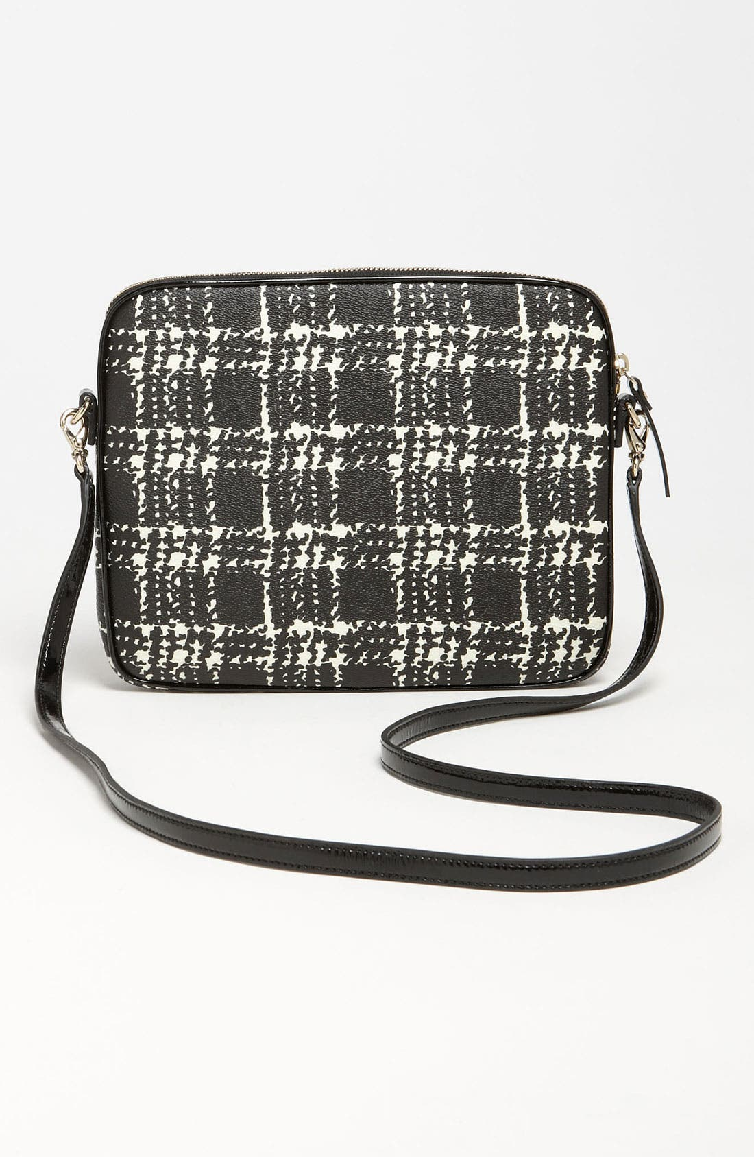 Alternate Image 4  - kate spade new york 'belleville plaid - bryce' iPad crossbody bag