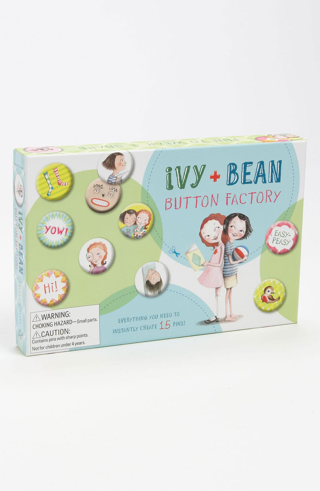 Alternate Image 1 Selected - Annie Barrows & Sophie Blackall 'Ivy + Bean' Button Factory