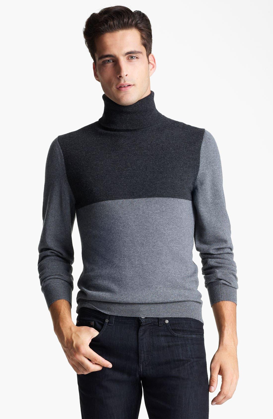 Main Image - Z Zegna Wool Turtleneck Sweater