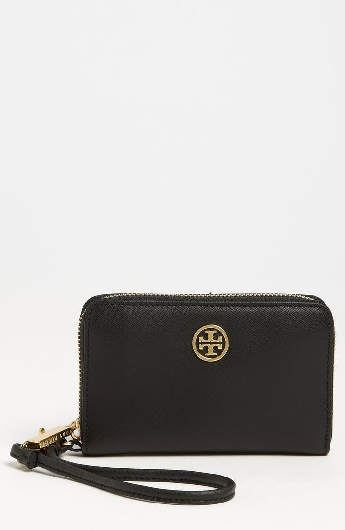 tory burch robinson smartphone wallet reviews