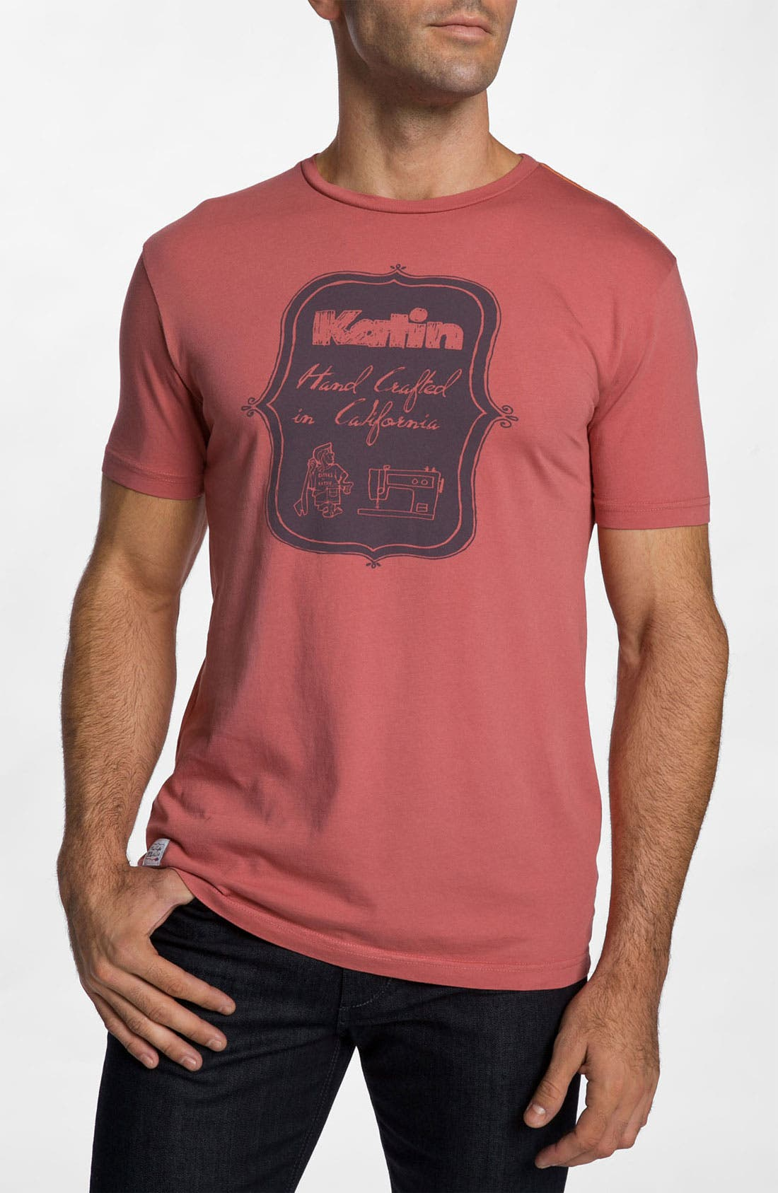 Alternate Image 1 Selected - Katin 'Hand Crafted' Graphic T-Shirt
