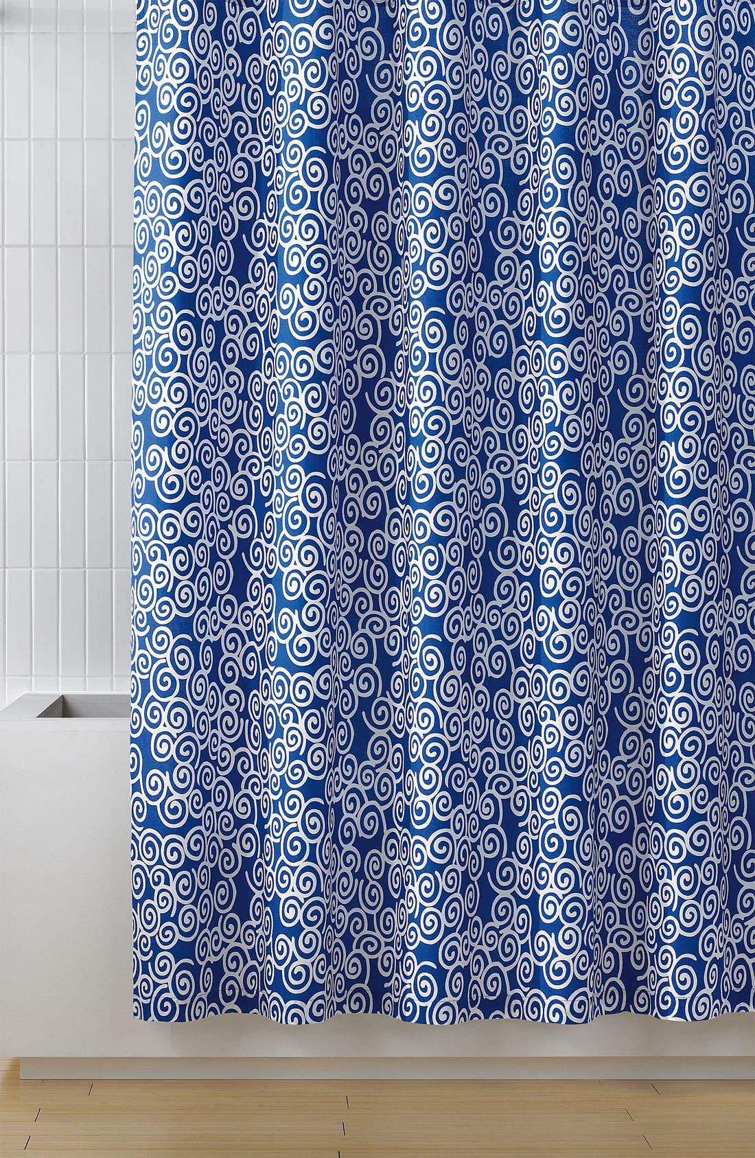 Alternate Image 1 Selected - Diane von Furstenberg 'Swirls' Shower Curtain