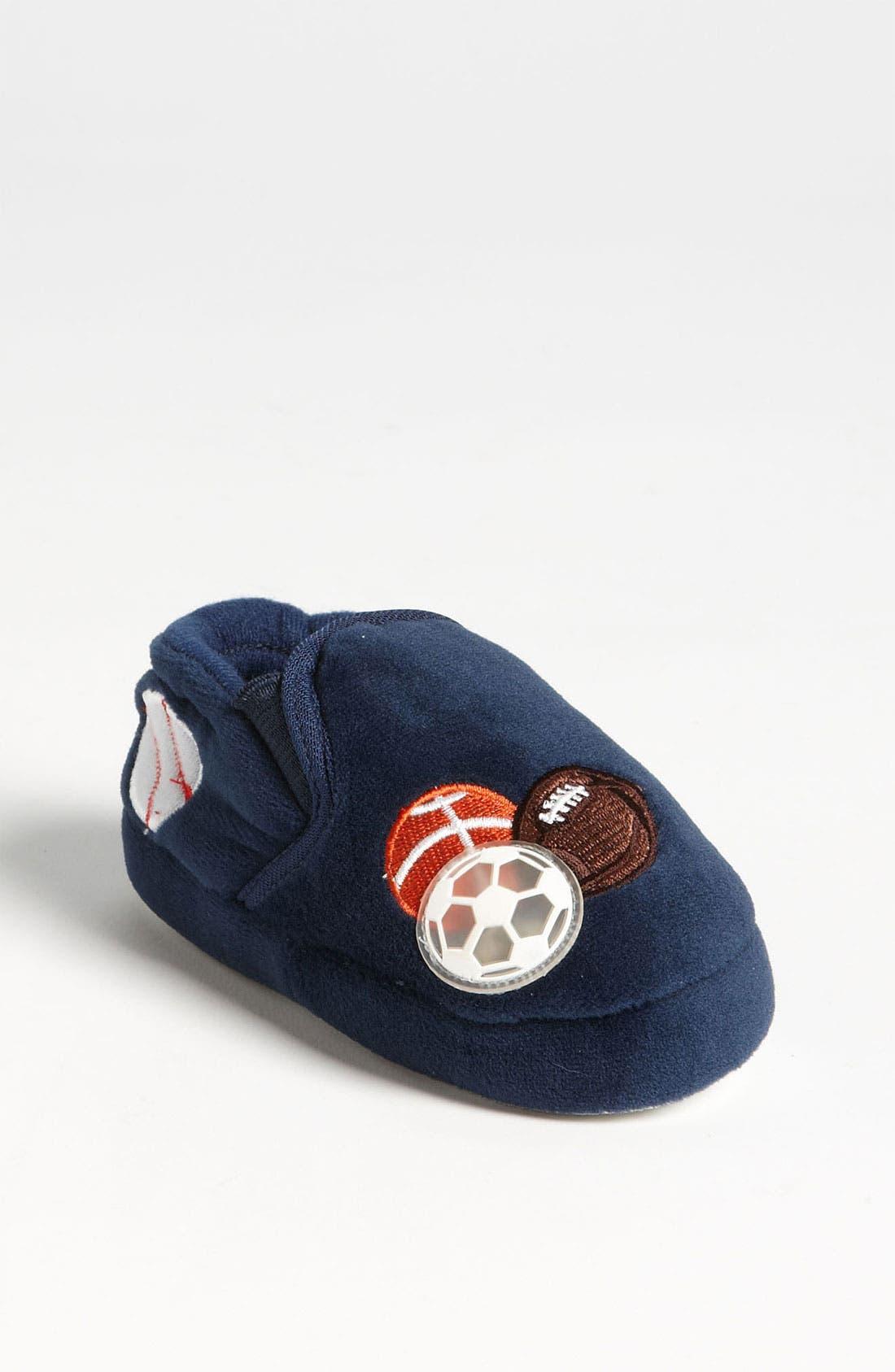 Alternate Image 1 Selected - Stride Rite 'Lighted Sportsballs' Slippers (Walker, Toddler & Little Kid)