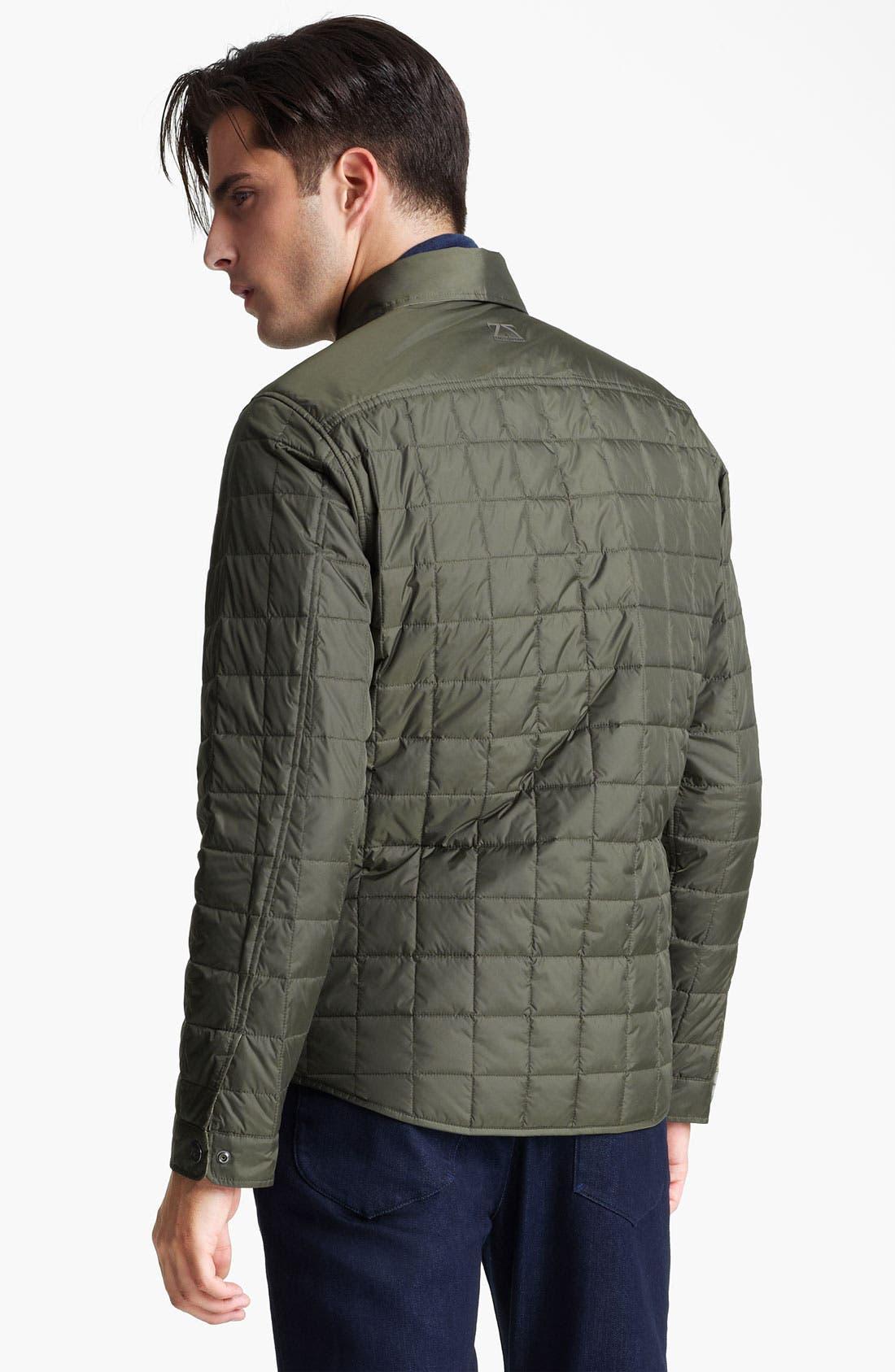 Alternate Image 2  - Zegna Sport Quilted Reversible Jacket