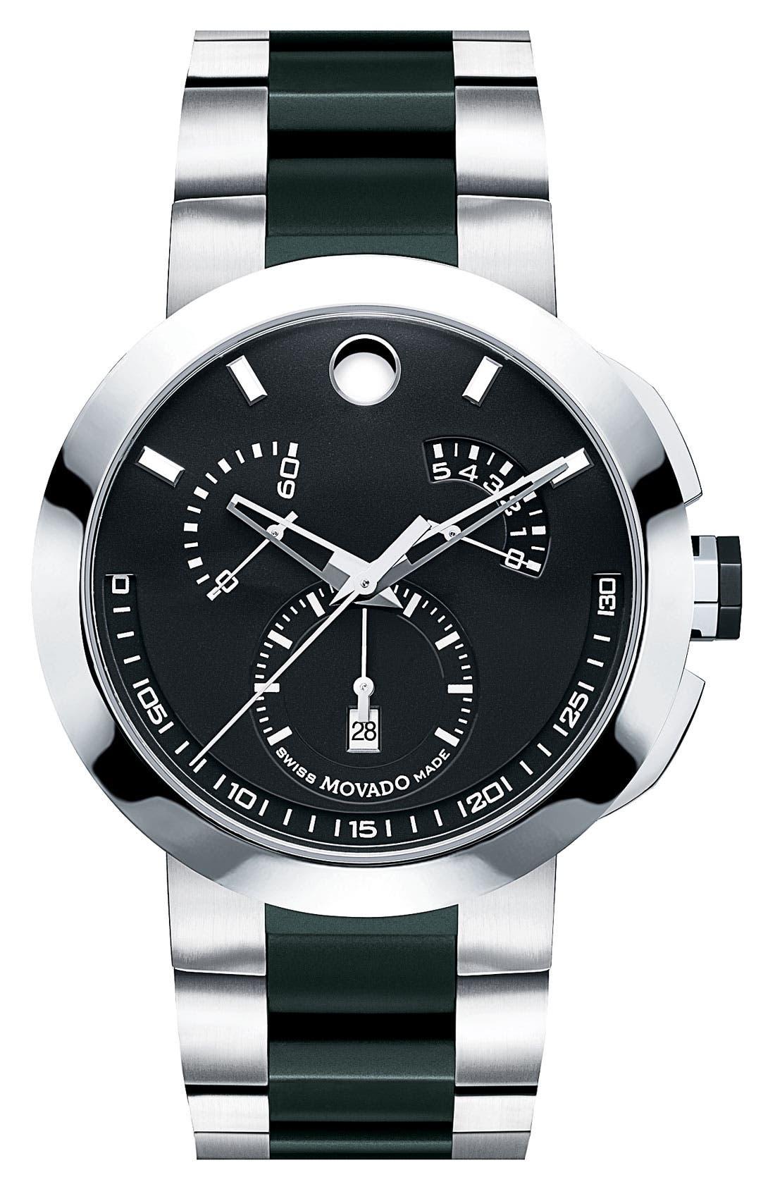 Main Image - Movado 'Verto' Chronograph Bracelet Watch
