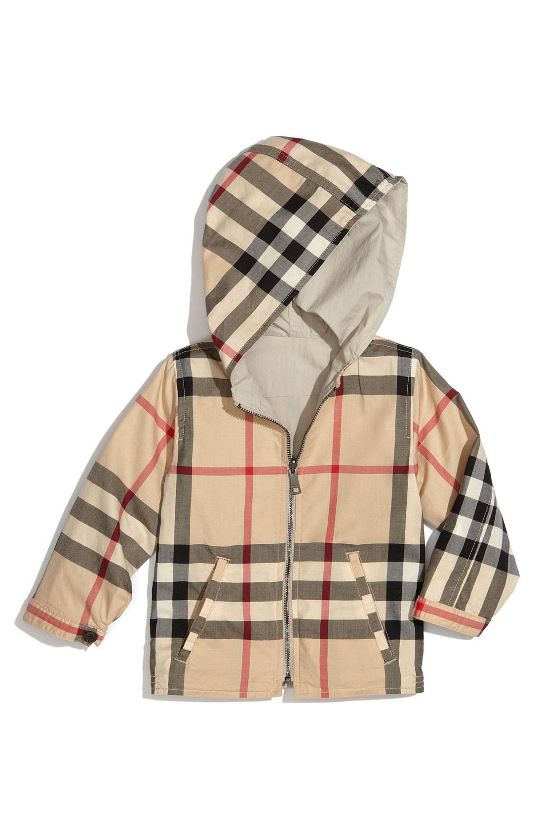 Alternate Image 2  - Burberry Reversible Jacket (Toddler)
