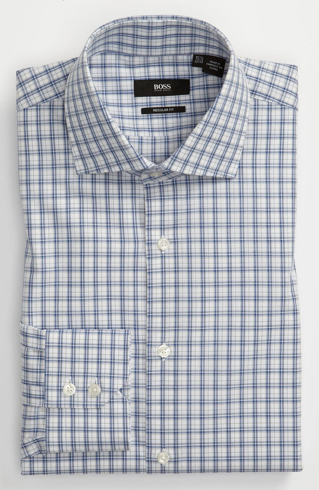 Alternate Image 1 Selected - BOSS Black Regular Fit Dress Shirt