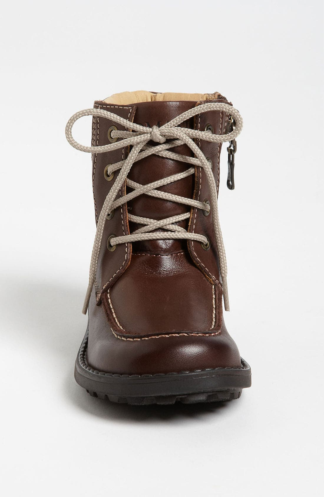 Alternate Image 3  - Armani Junior Leather Boot (Walker & Toddler)