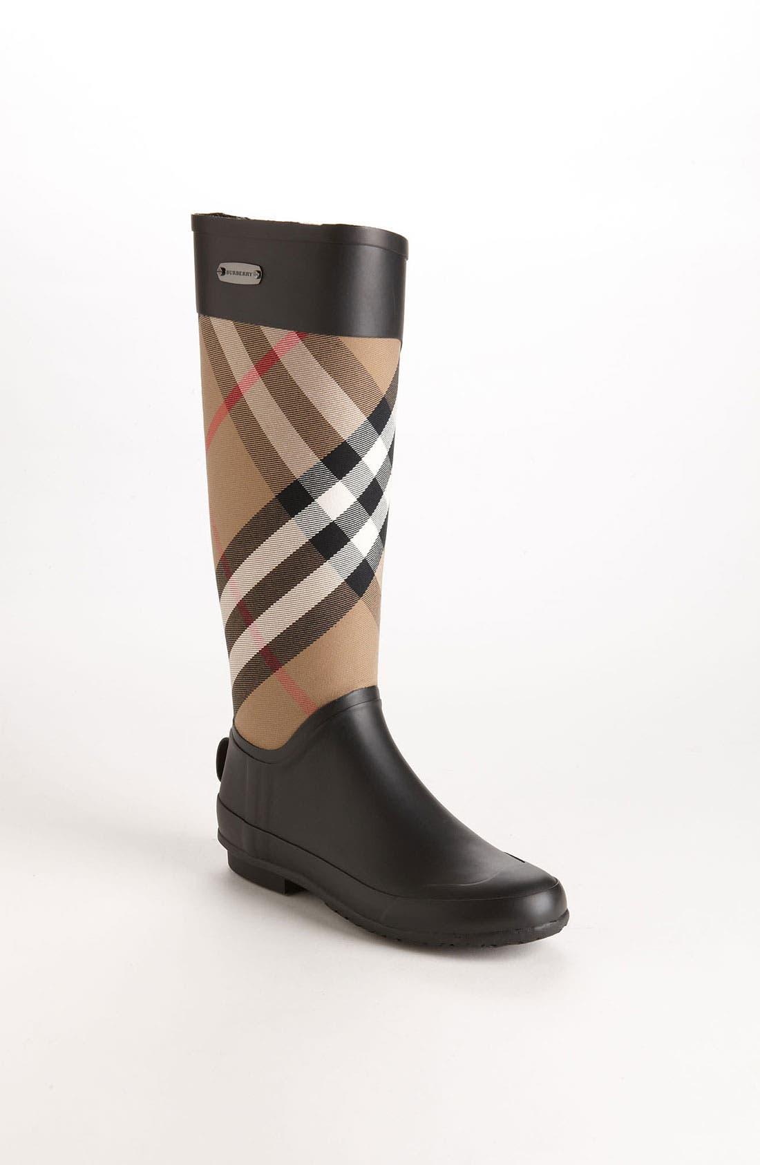 Main Image - Burberry Clemence Rain Boot (Women)