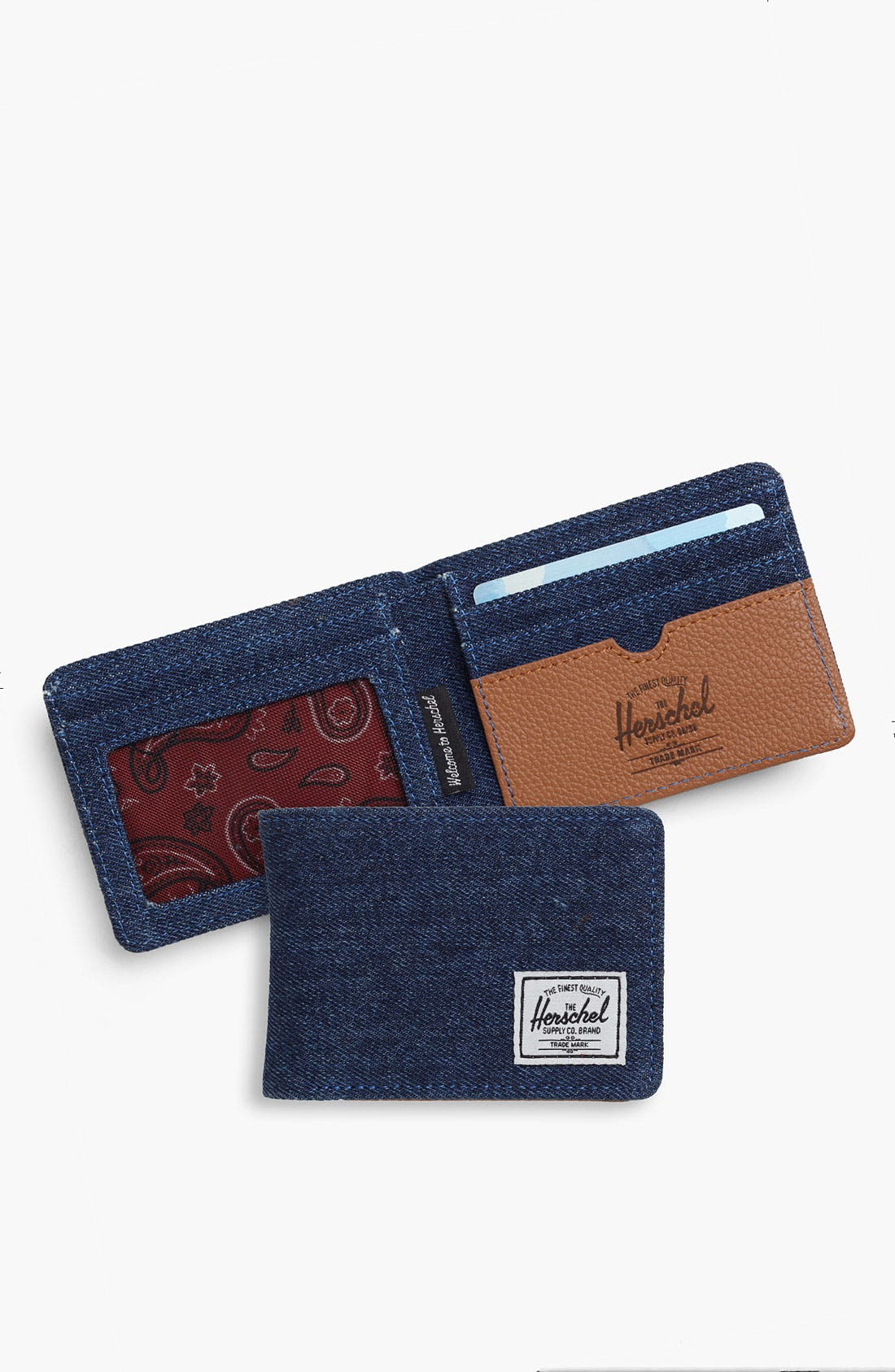 Alternate Image 1 Selected - Herschel Supply Co. 'Hank - Denim Collection' Wallet