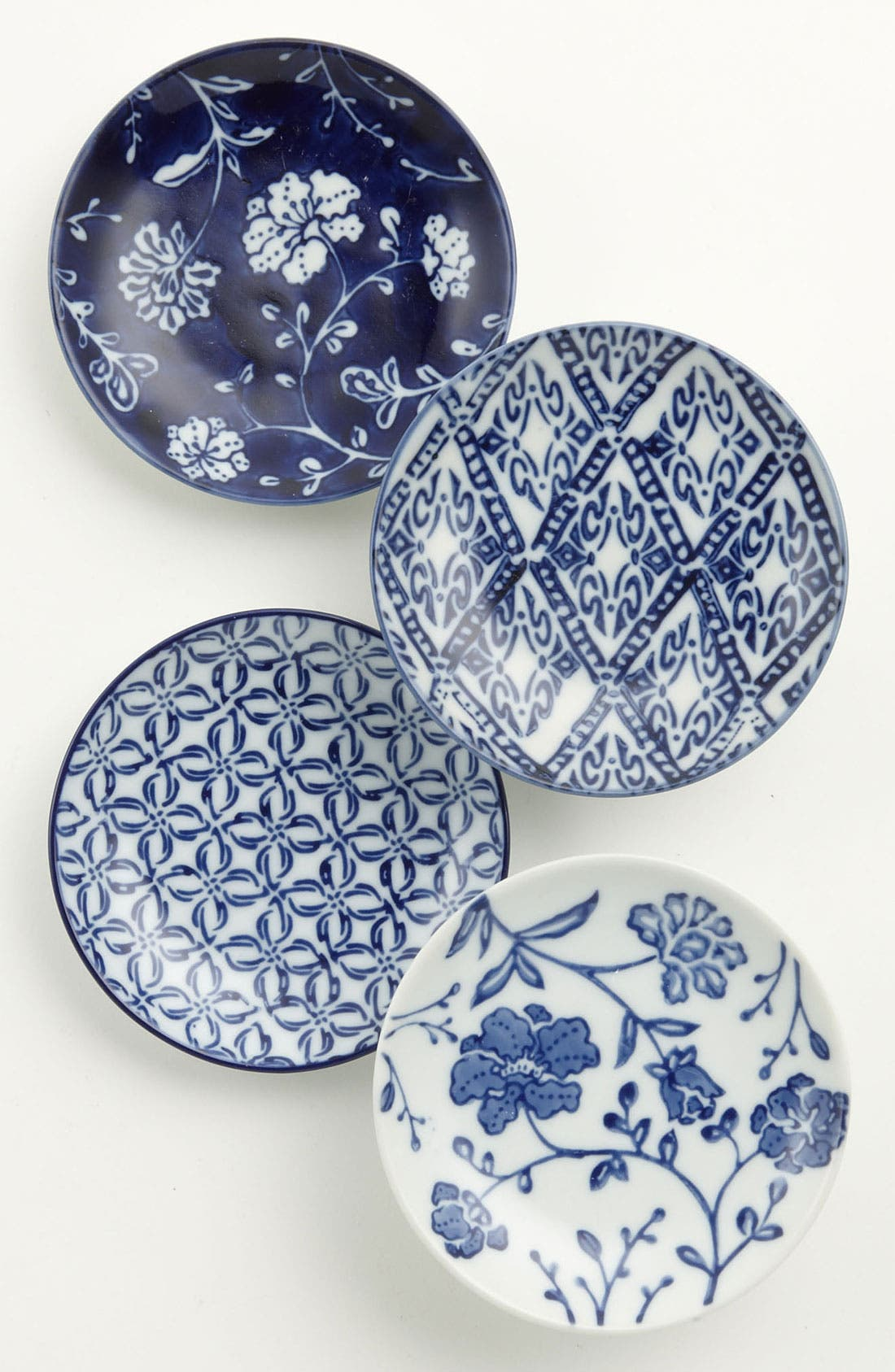 Main Image - Mixed Pattern Coaster Plates (Set of 4)