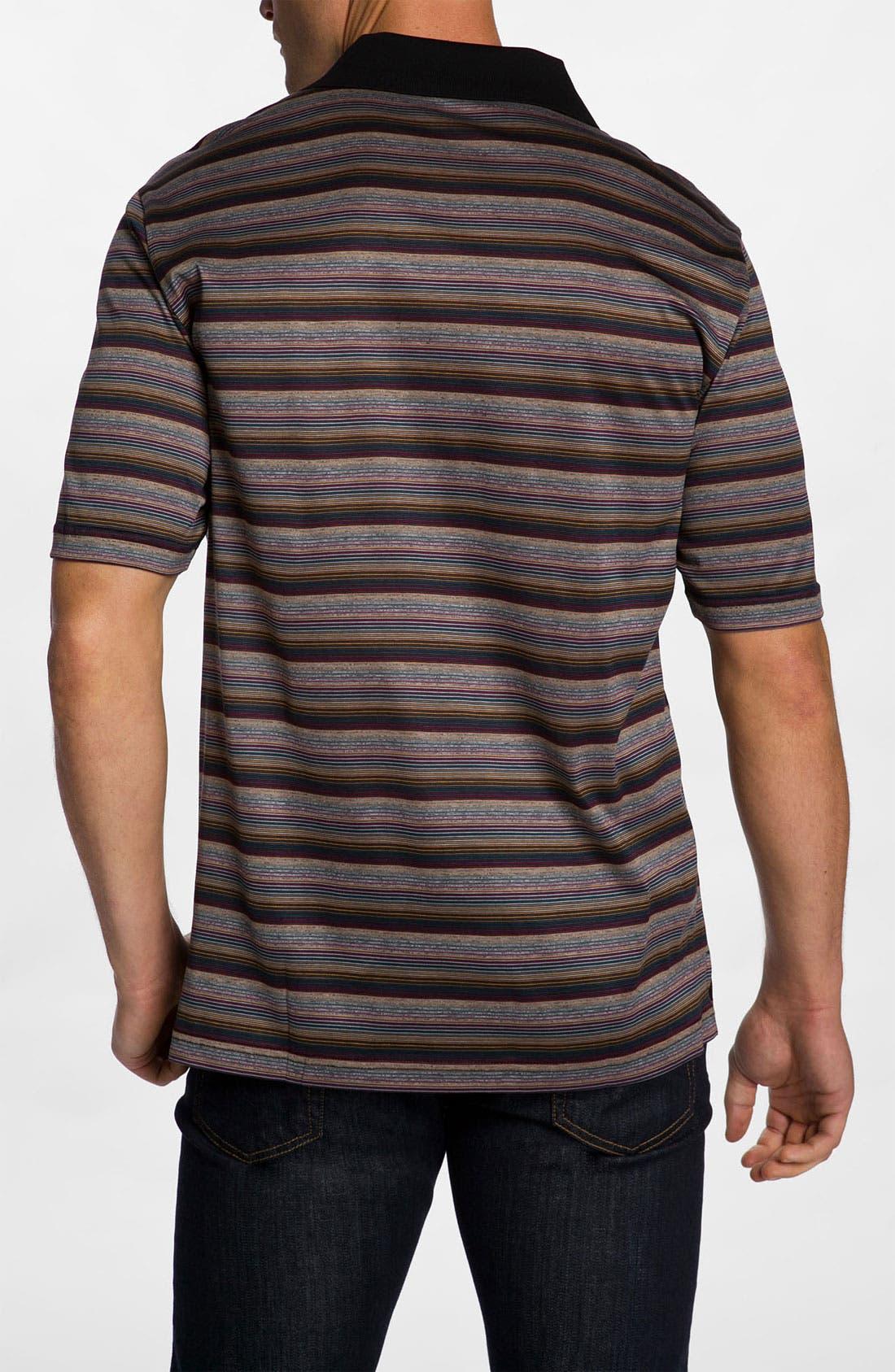 Alternate Image 2  - Bugatchi Uomo Regular Fit Polo